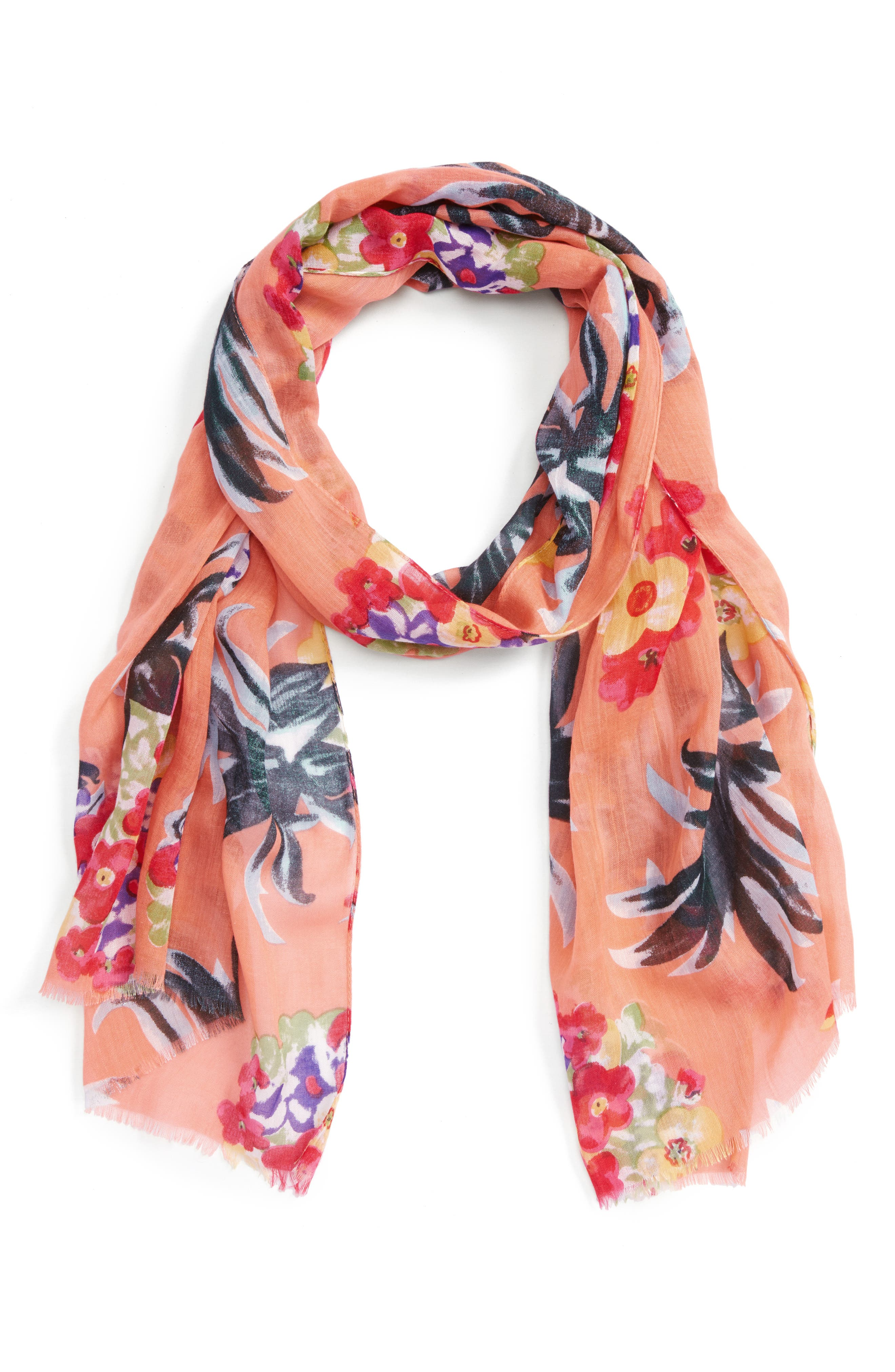 Main Image - Sole Society Tropical Print Scarf