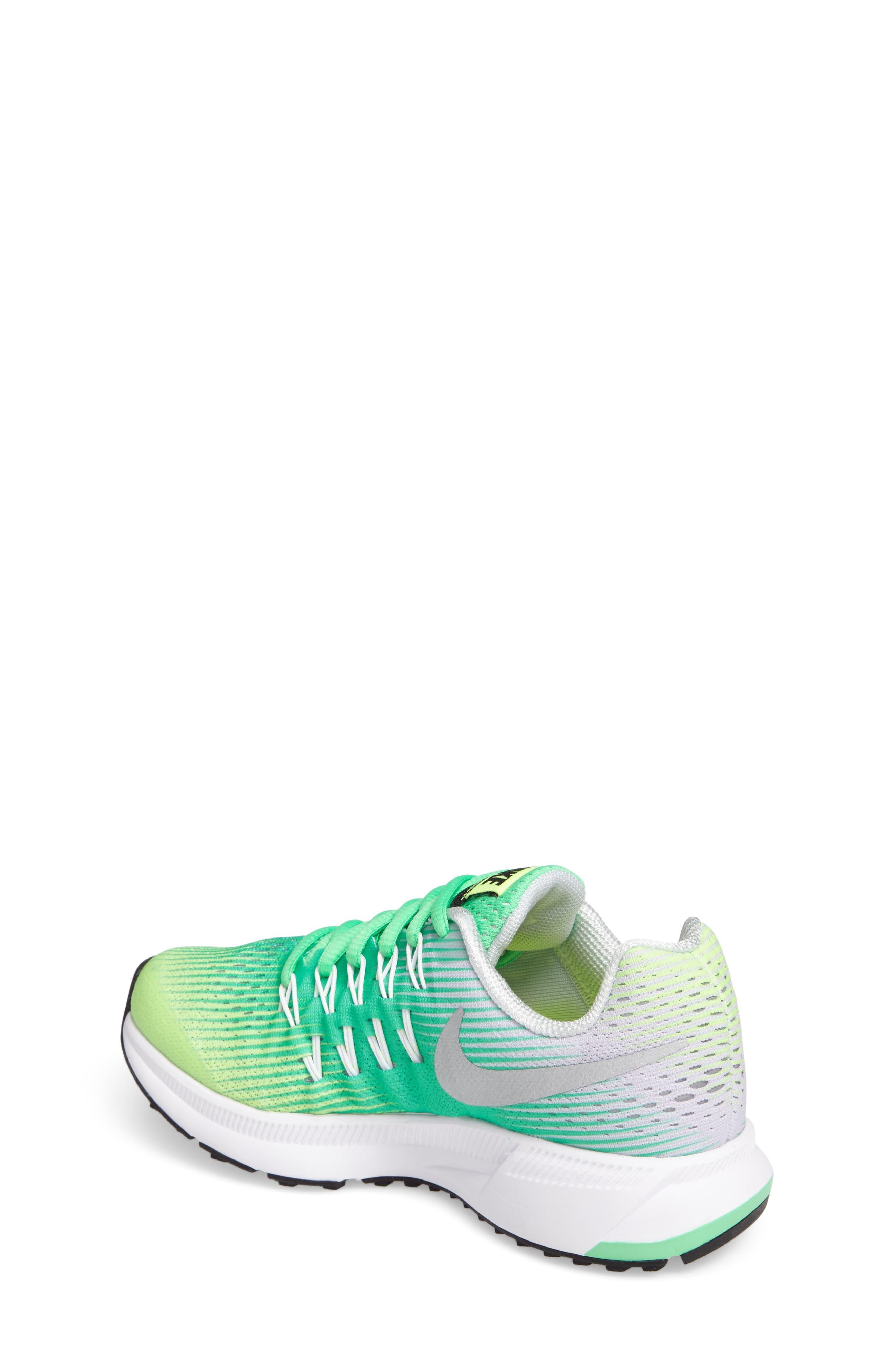 Alternate Image 2  - Nike 'Zoom Pegasus 33' Sneaker (Little Kid & Big Kid)