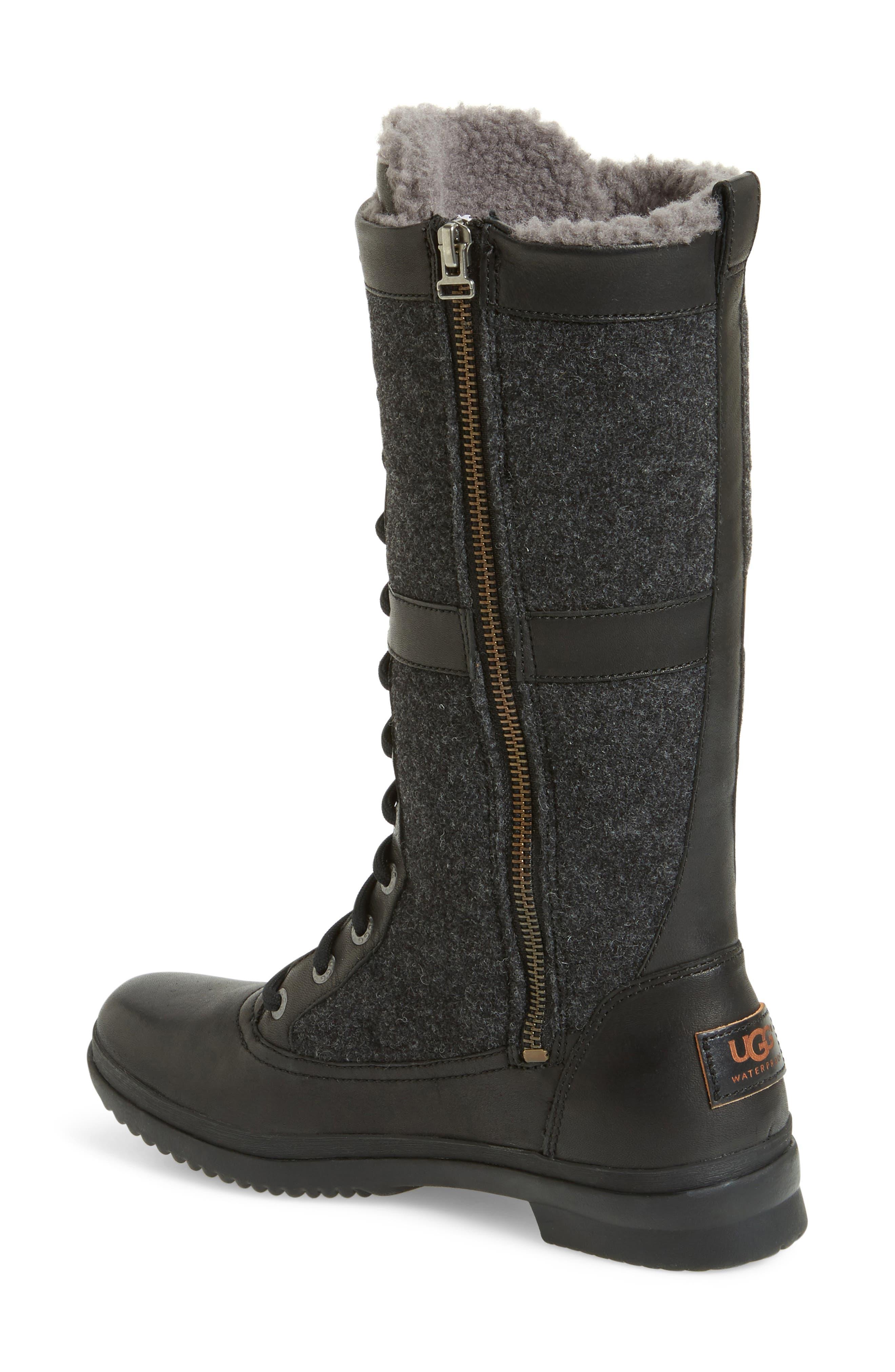 Alternate Image 2  - UGG® Elvia Waterproof Tall Boot