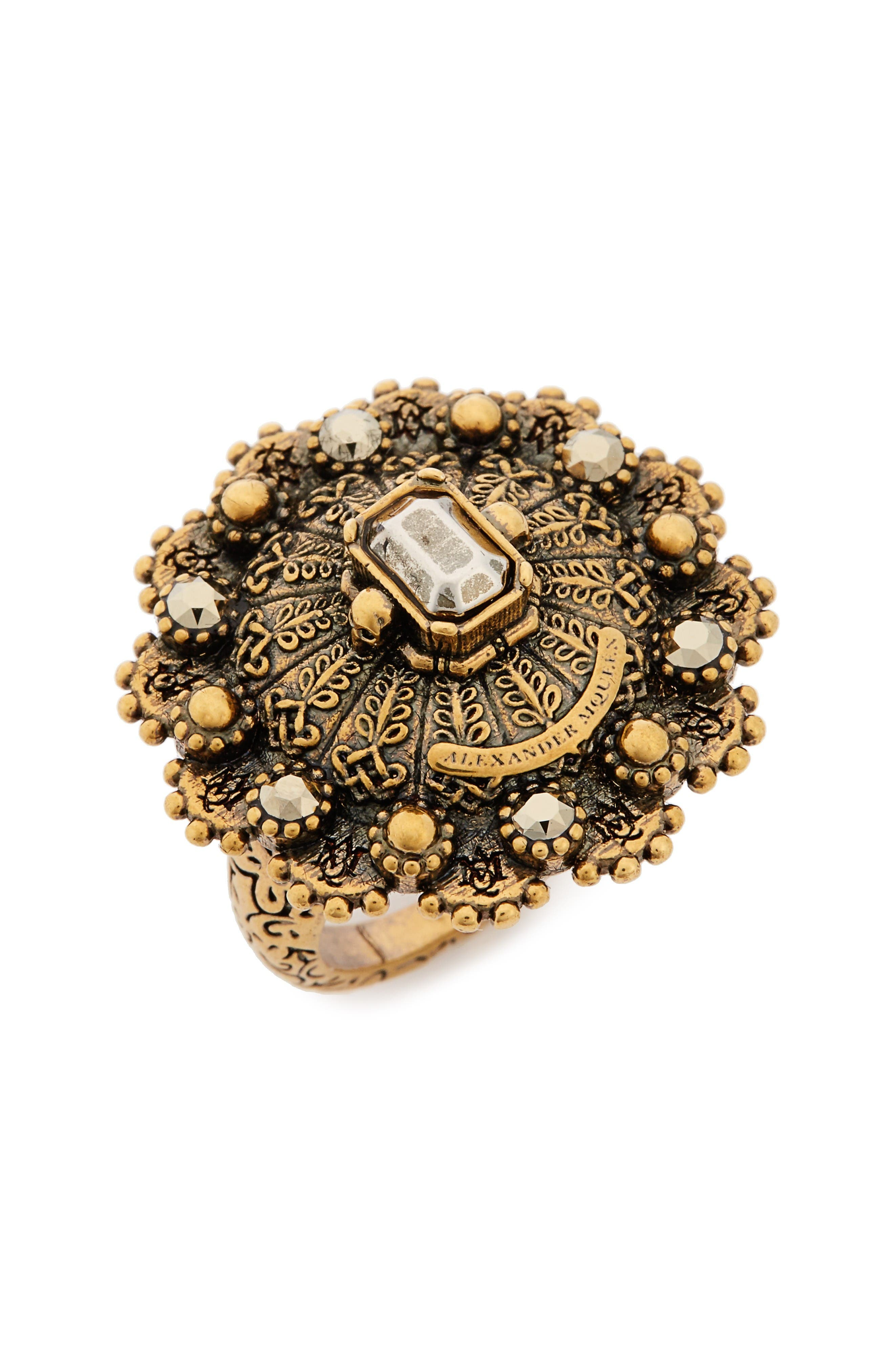 Alexander McQueen Jeweled Ring