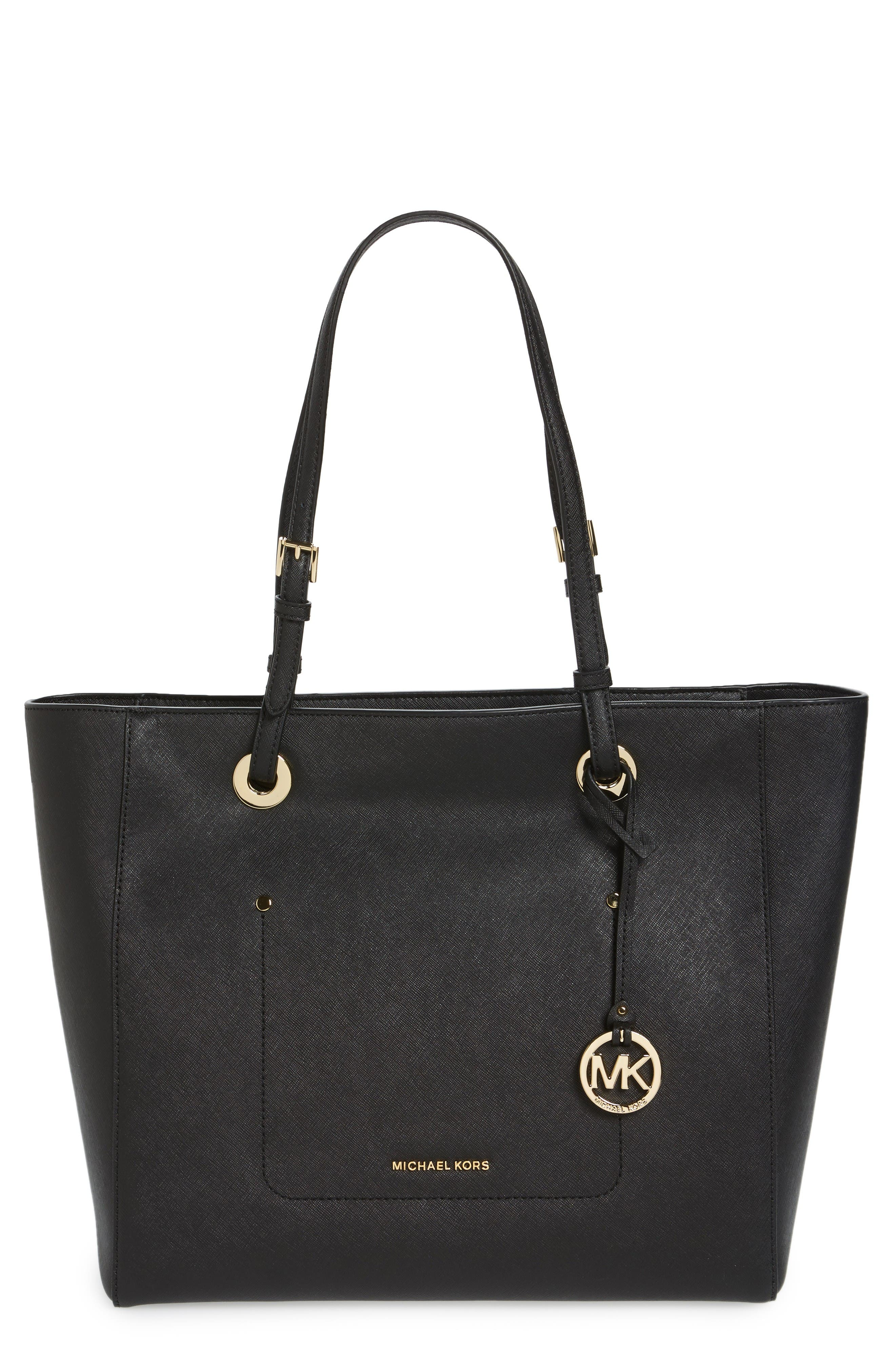 MICHAEL MICHAEL KORS Large Walsh Saffiano Leather Tote