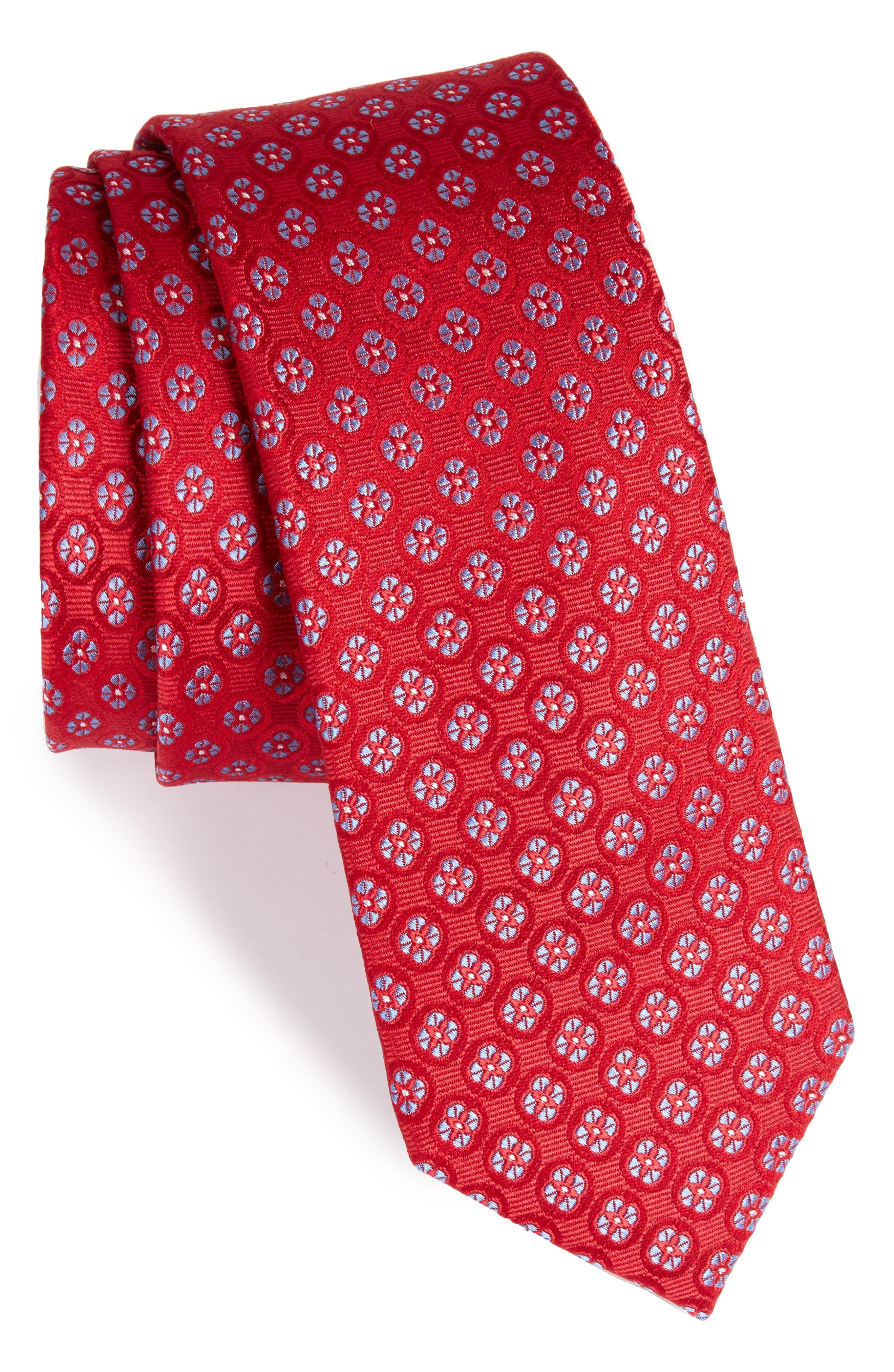 The Tie Bar Bedrock Floral Silk Tie