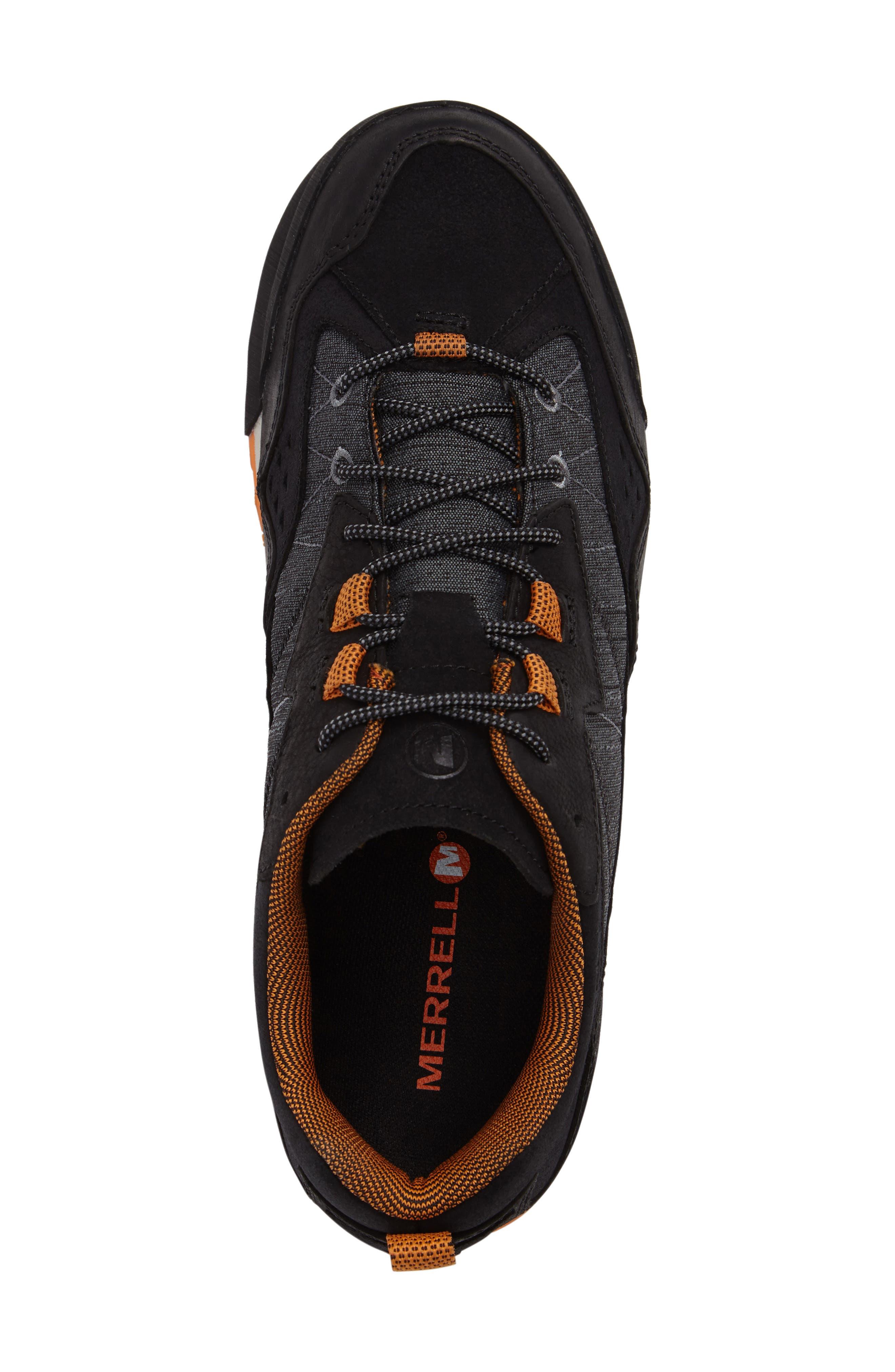 Burnt Rock Sneaker,                             Alternate thumbnail 5, color,                             Black