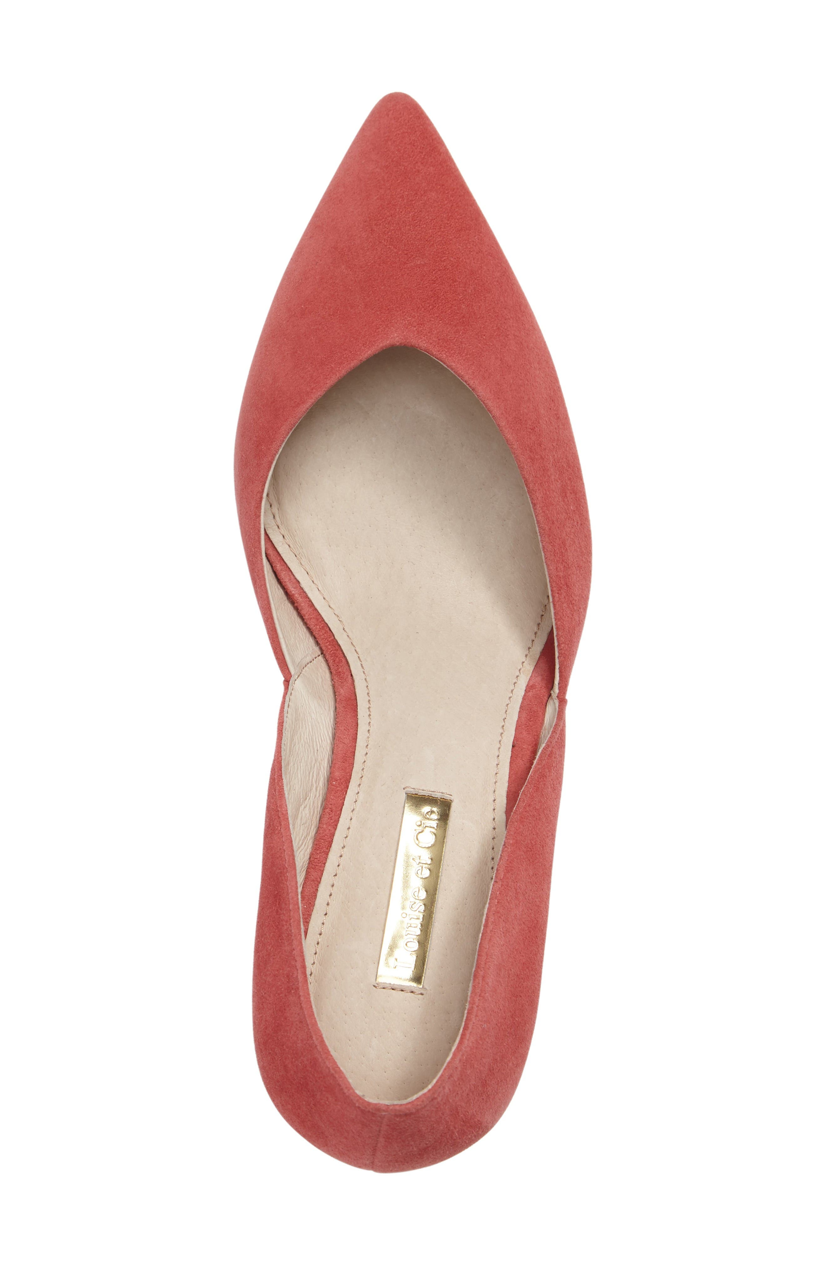 Alternate Image 5  - Louise et Cie Jacee Pointy Toe Pump (Women)
