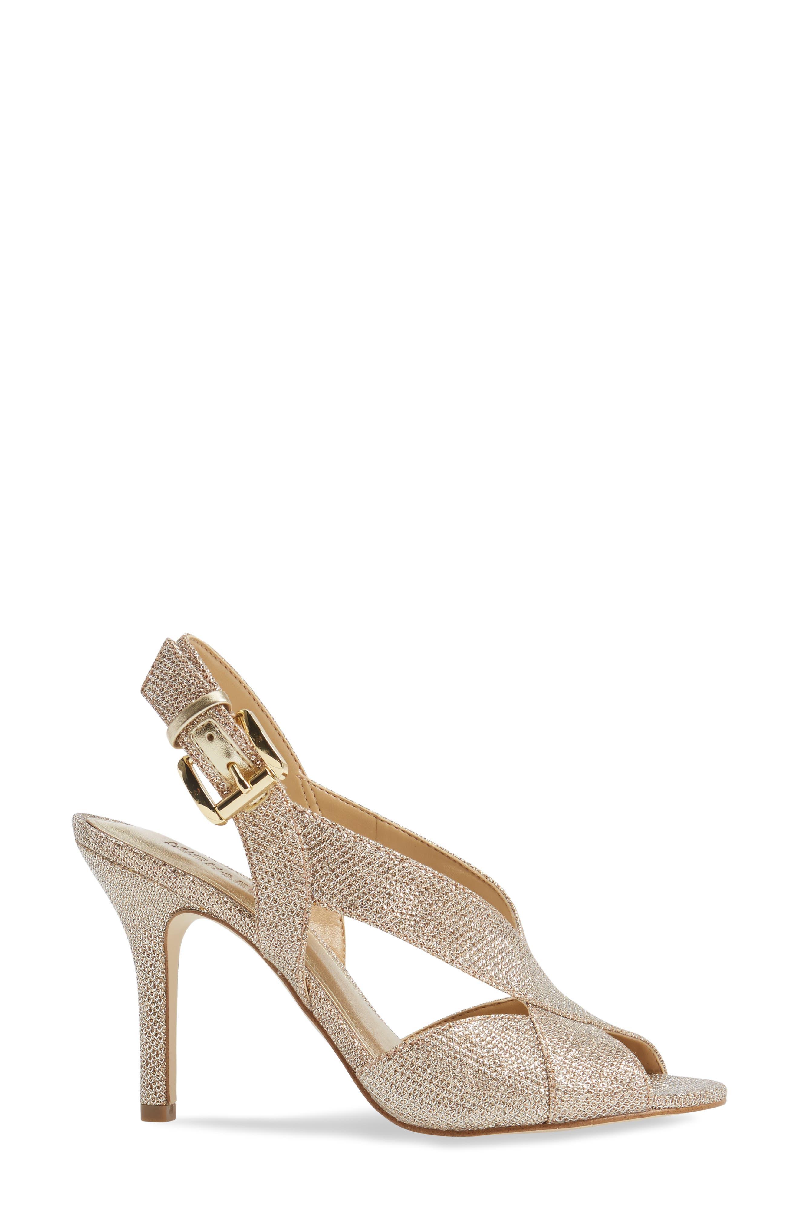Alternate Image 3  - MICHAEL Michael Kors Becky Cross Strap Sandal (Women)