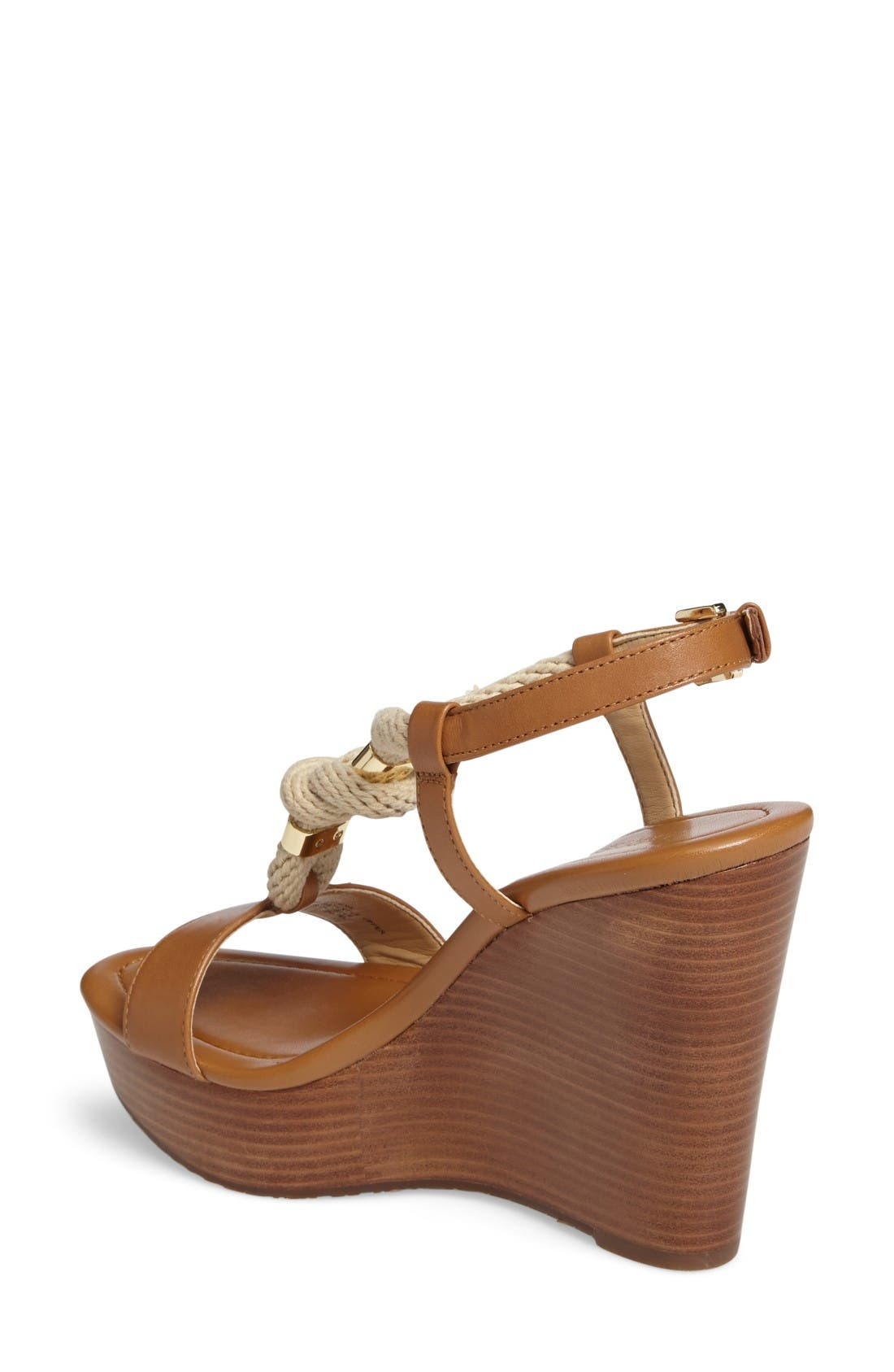 Alternate Image 2  - MICHAEL Michael Kors 'Holly' Espadrille Wedge Sandal (Women)