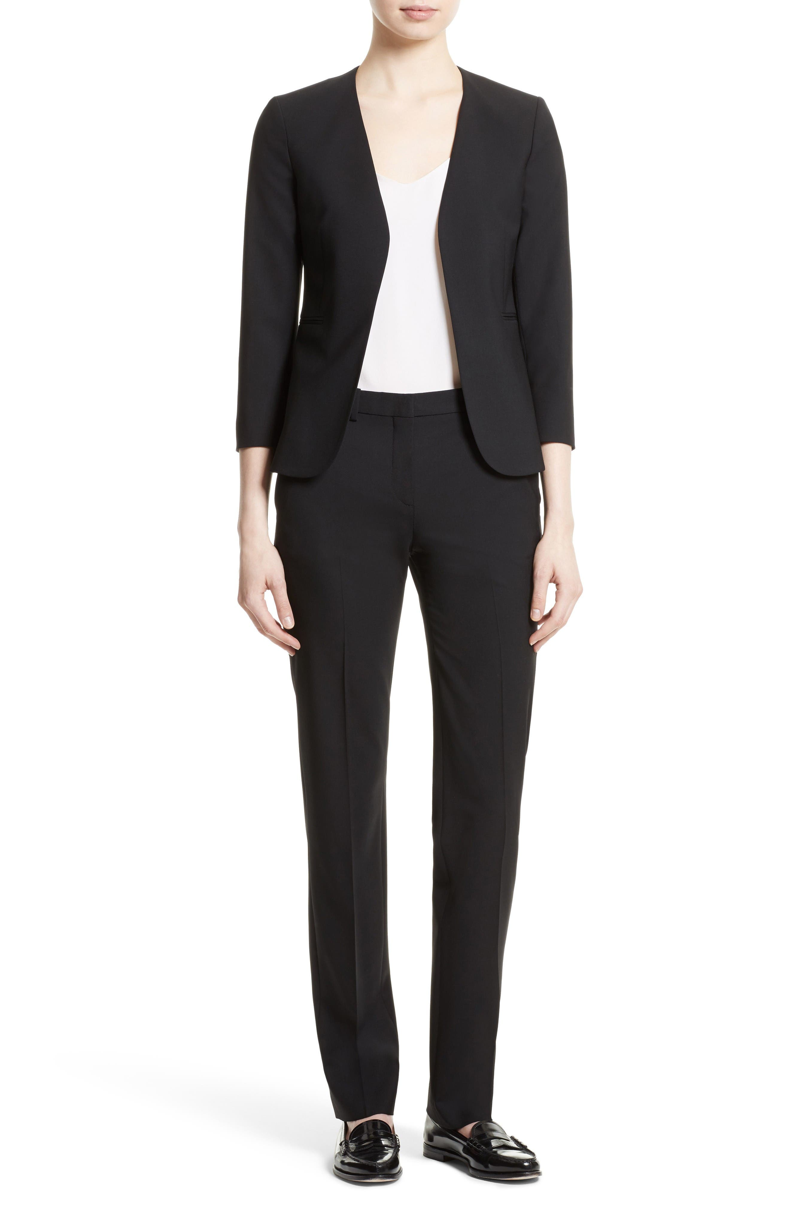 Alternate Image 5  - Theory Lindrayia B Good Wool Suit Jacket (Nordstrom Exclusive)