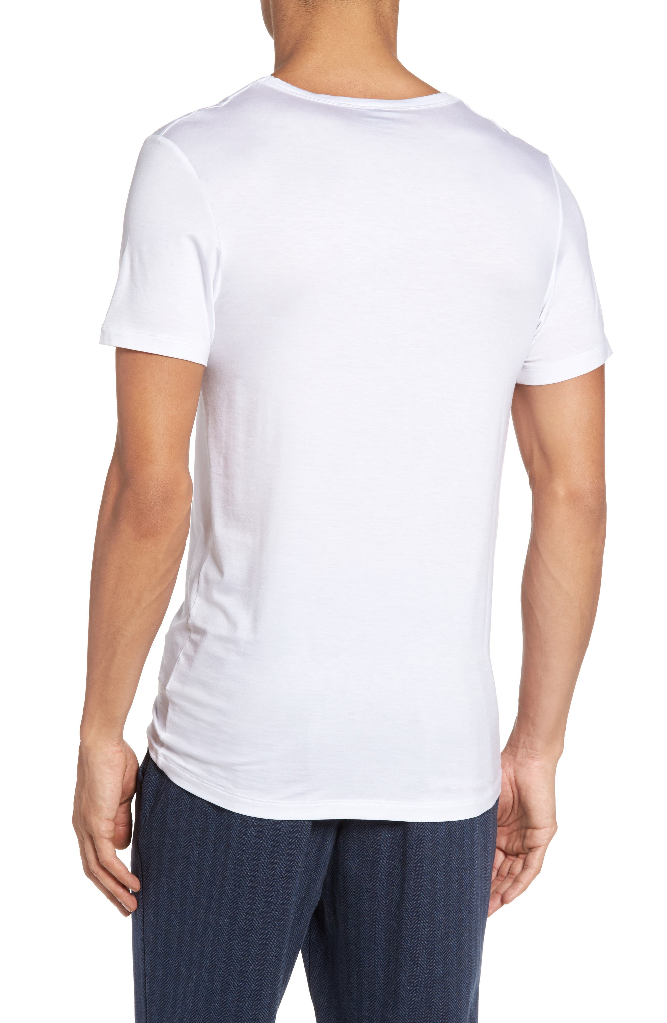 SeaCell<sup>®</sup> Blend T-Shirt,                             Alternate thumbnail 2, color,                             White