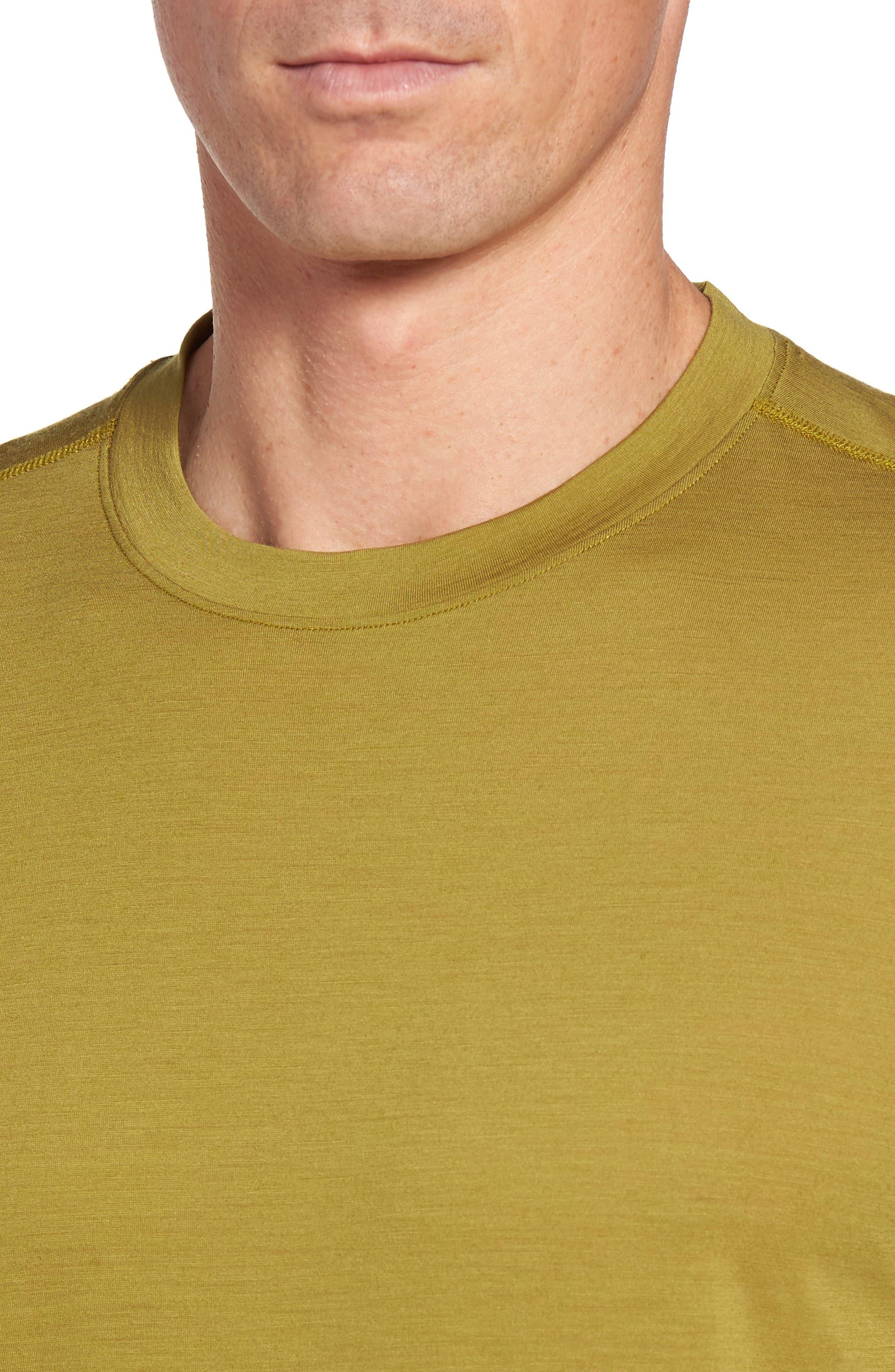 Alternate Image 4  - ibex 'All Day Weightless Wool Blend' T-Shirt