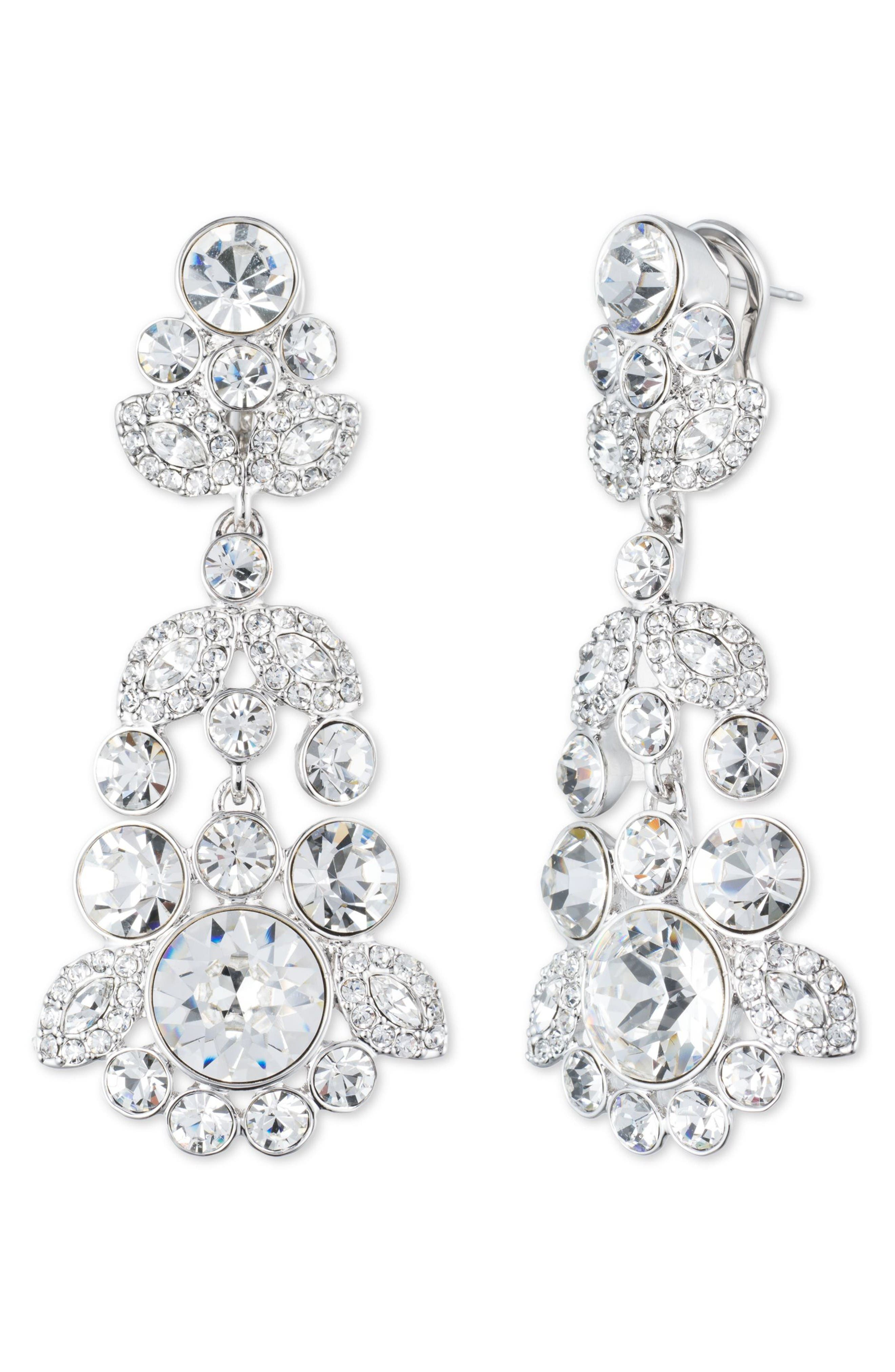 Alternate Image 1 Selected - Givenchy Crystal Chandelier Earrings