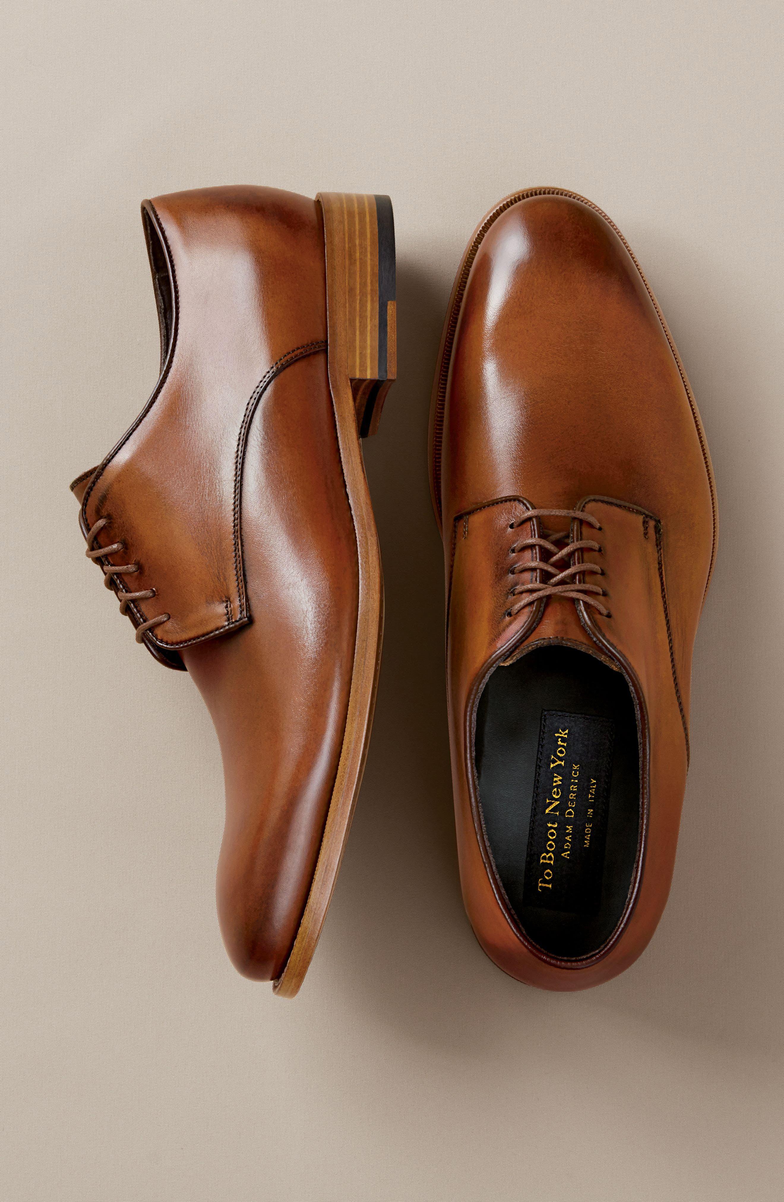 Alternate Image 7  - To Boot New York Hank Plain Toe Derby (Men)