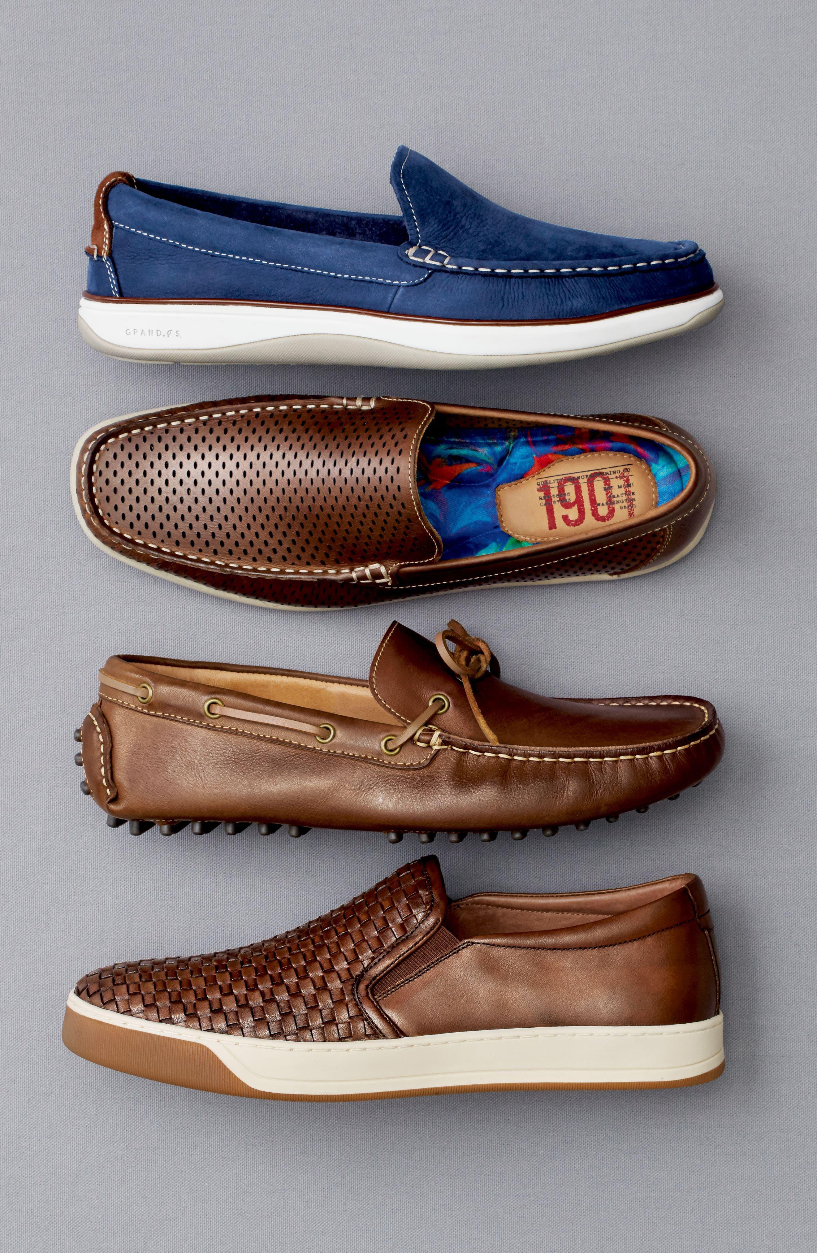 Alternate Image 5  - John W. Nordstrom® Midland Driving Shoe (Men)