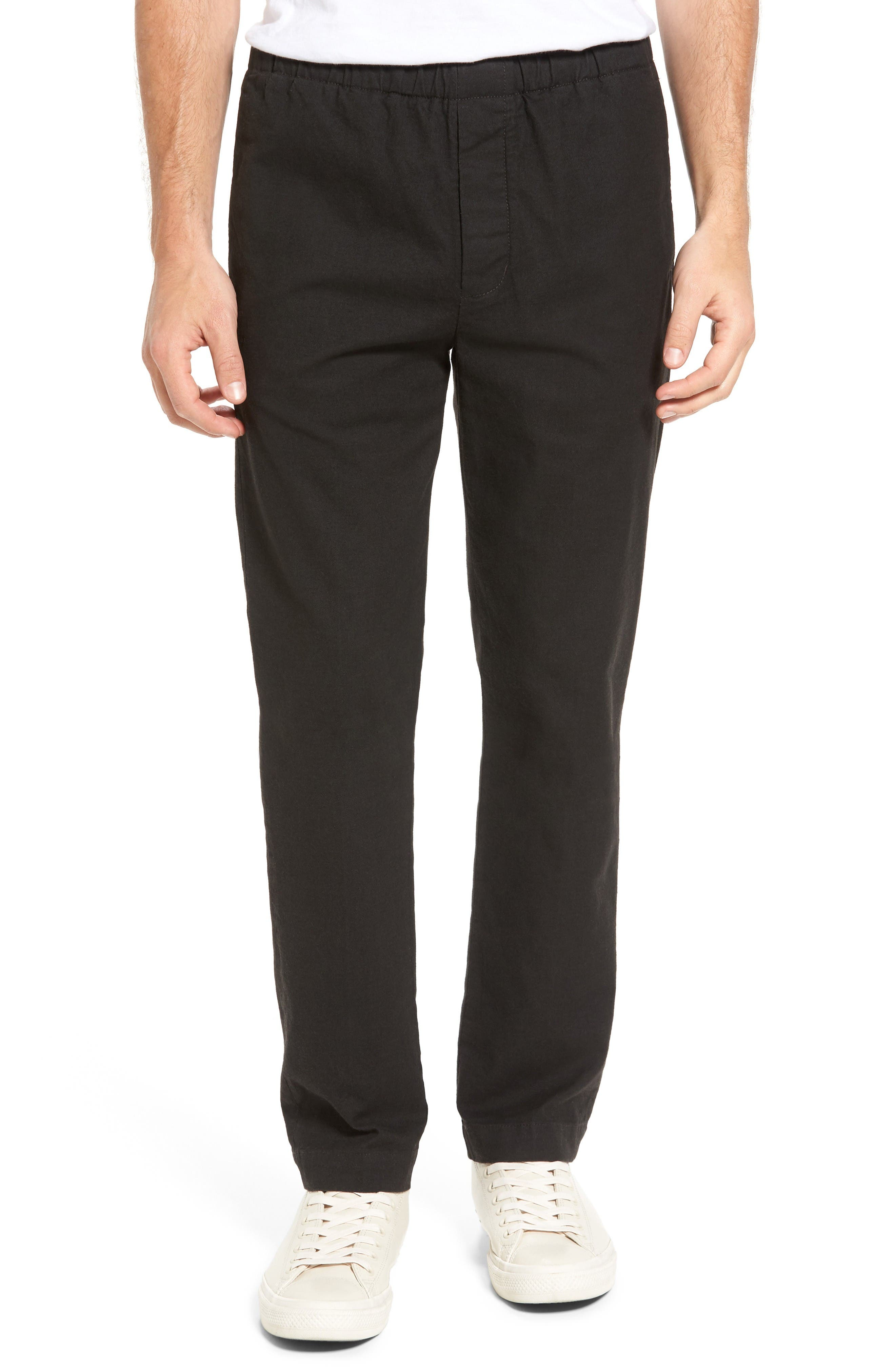 Relaxed Pants,                         Main,                         color, Coal