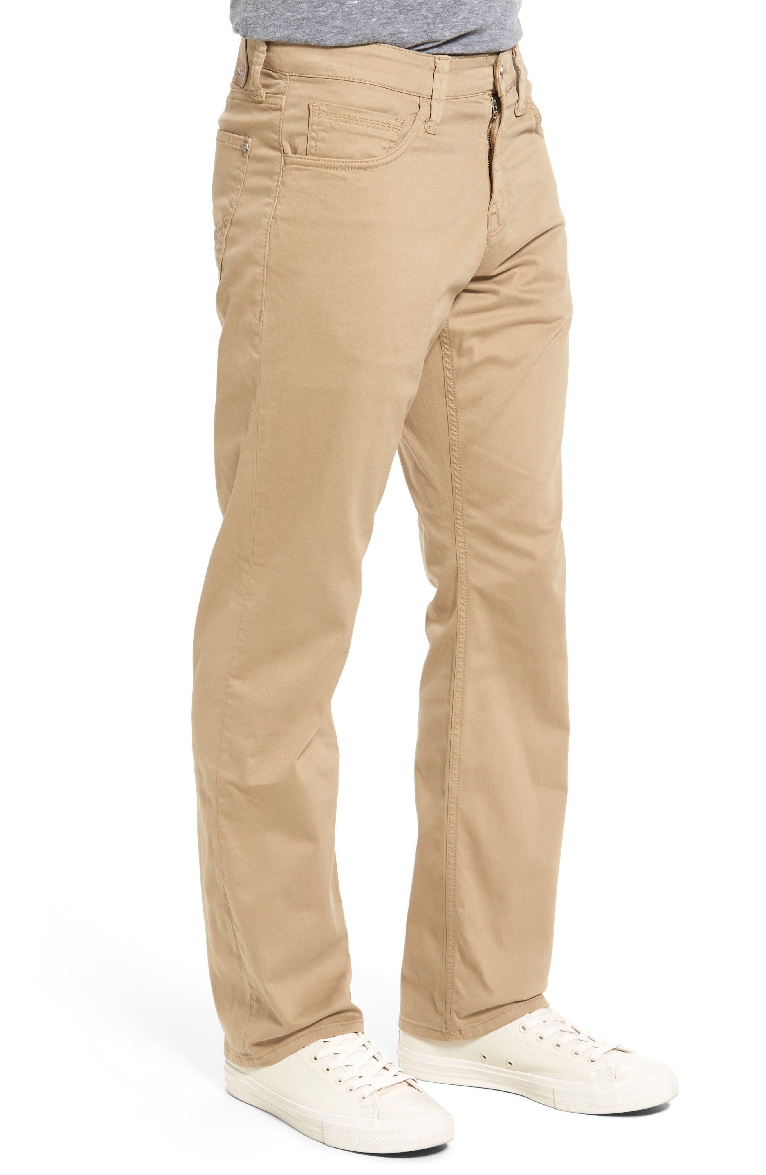Matt Relaxed Fit Jeans,                             Alternate thumbnail 3, color,                             British Khaki Twill