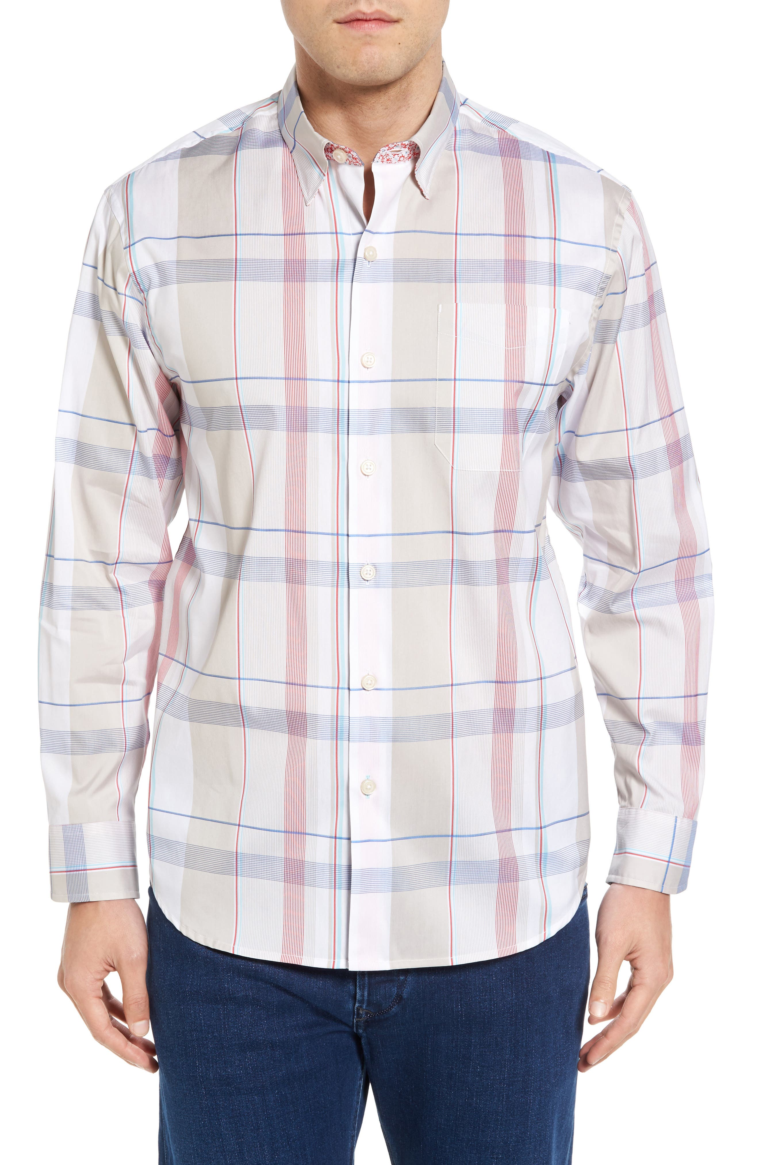 TOMMY BAHAMA Atlas Plaid Sport Shirt