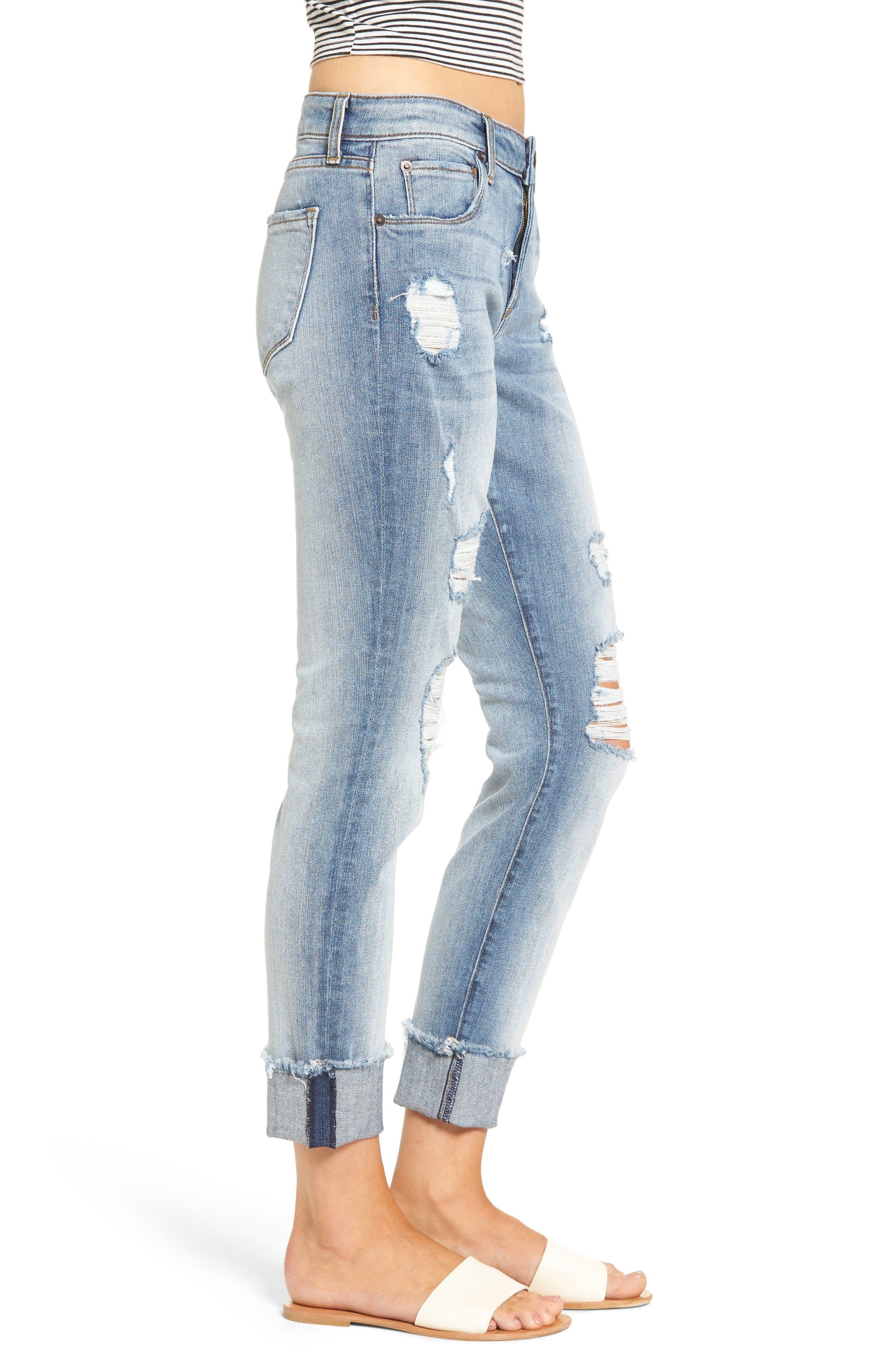 Alternate Image 3  - STS Blue Fray Hem Taylor Tomboy Jeans