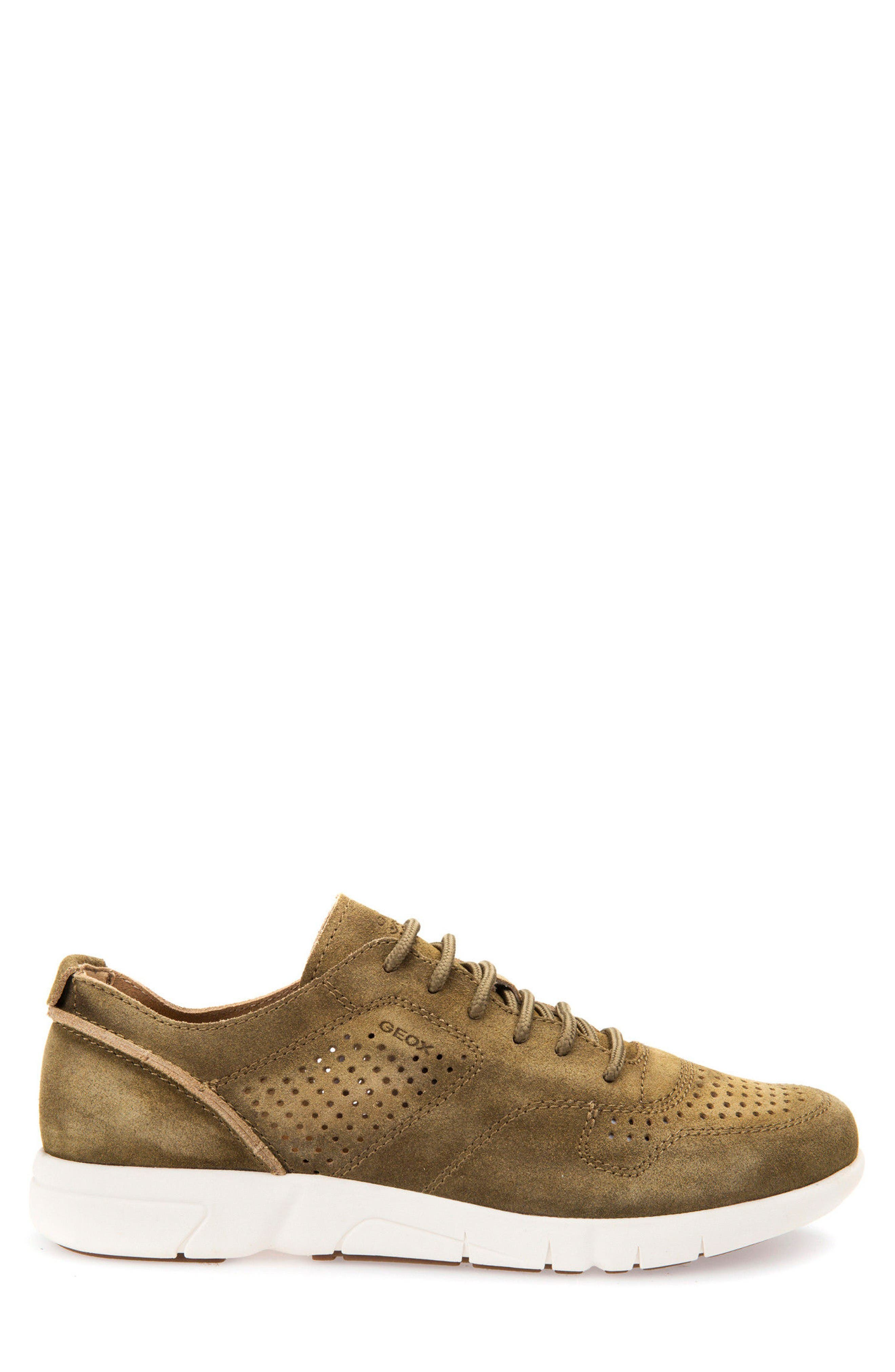 Alternate Image 3  - Geox Brattley 2 Perforated Sneaker (Men)