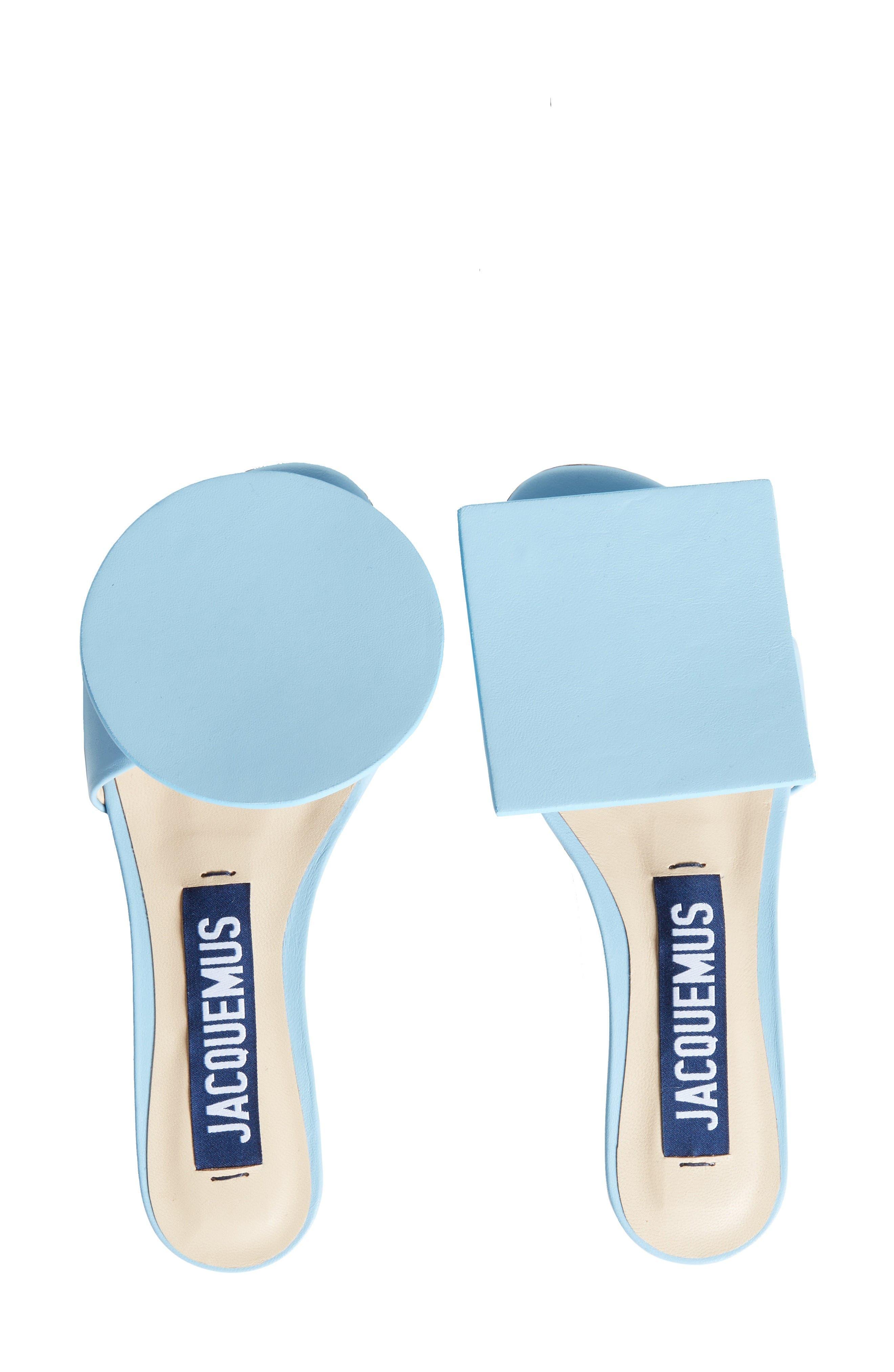 Les Sandales Rond Carré Sandal,                         Main,                         color, Light Blue