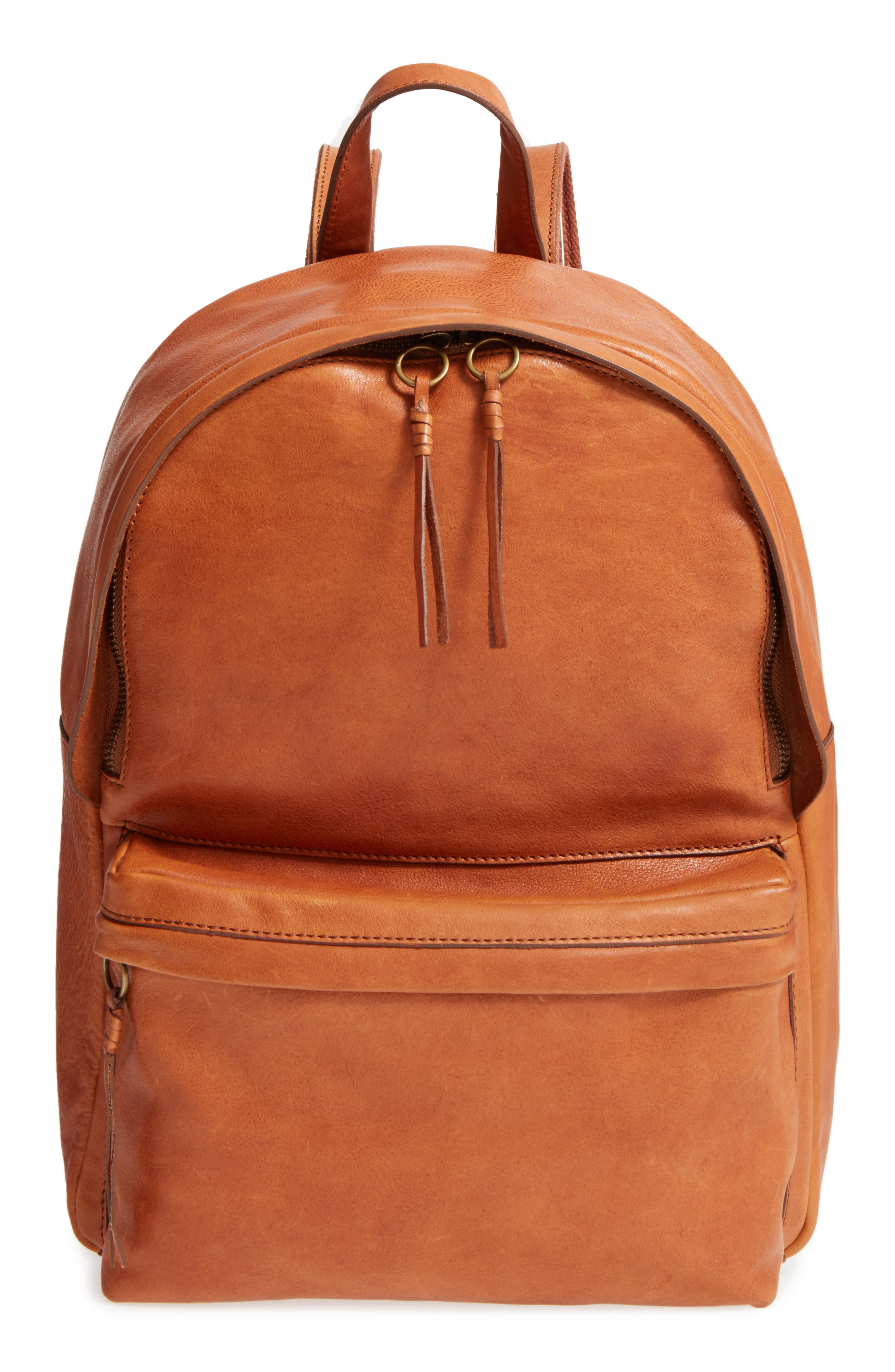 Madewell Lorimer Leather Backpack | Nordstrom