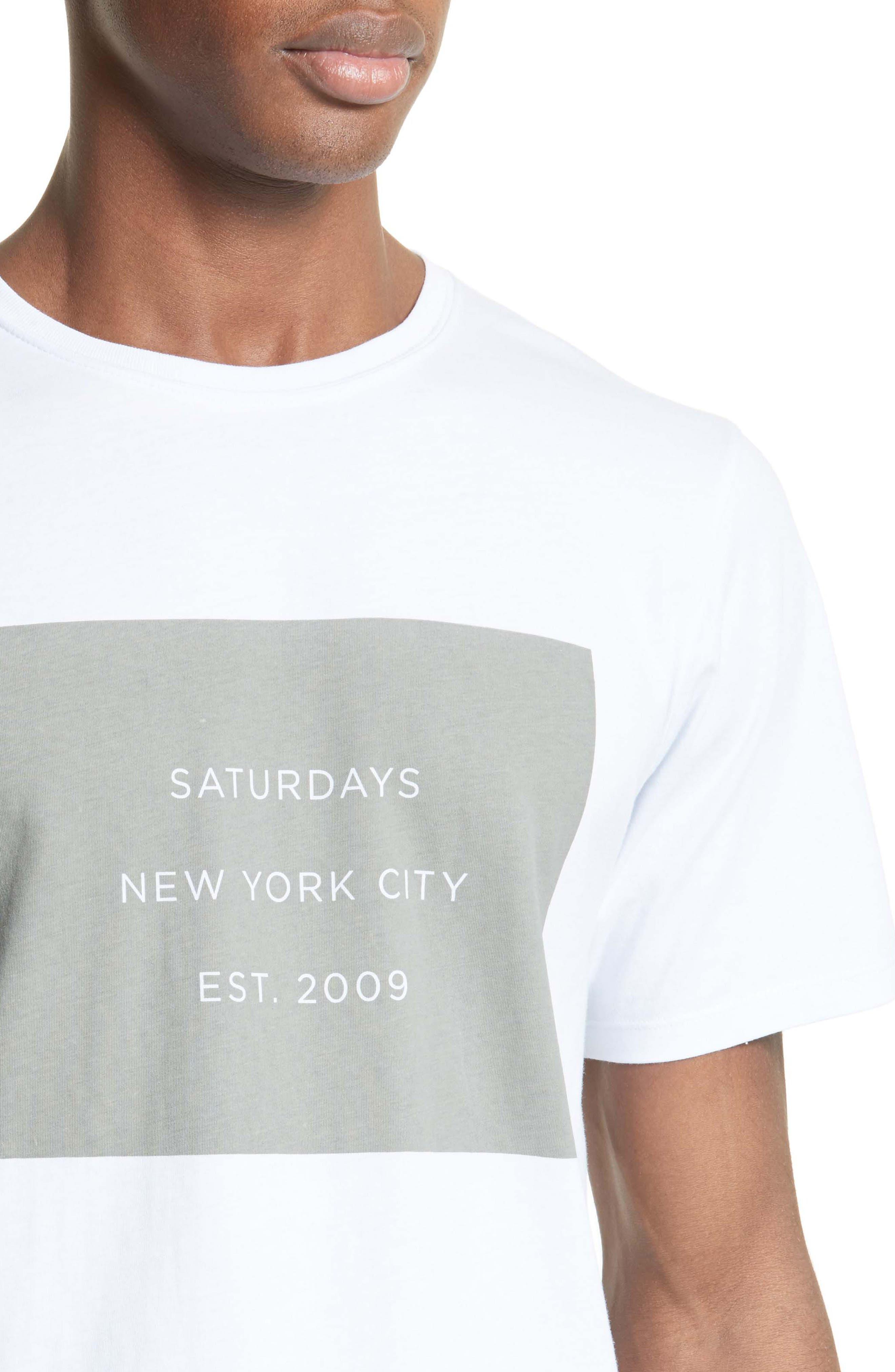 T-Shirt,                             Alternate thumbnail 4, color,                             White