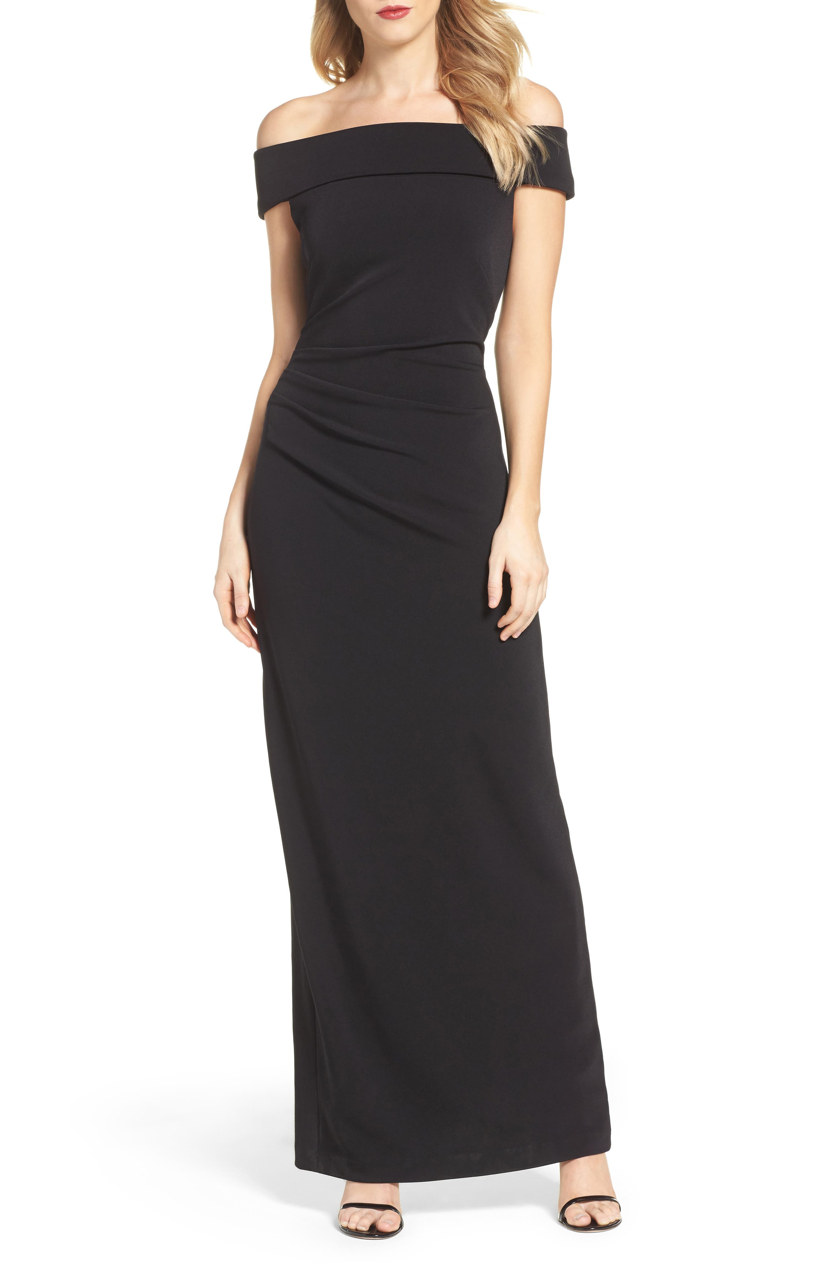 Alternate Image 1 Selected - Vince Camuto Off the Shoulder Gown