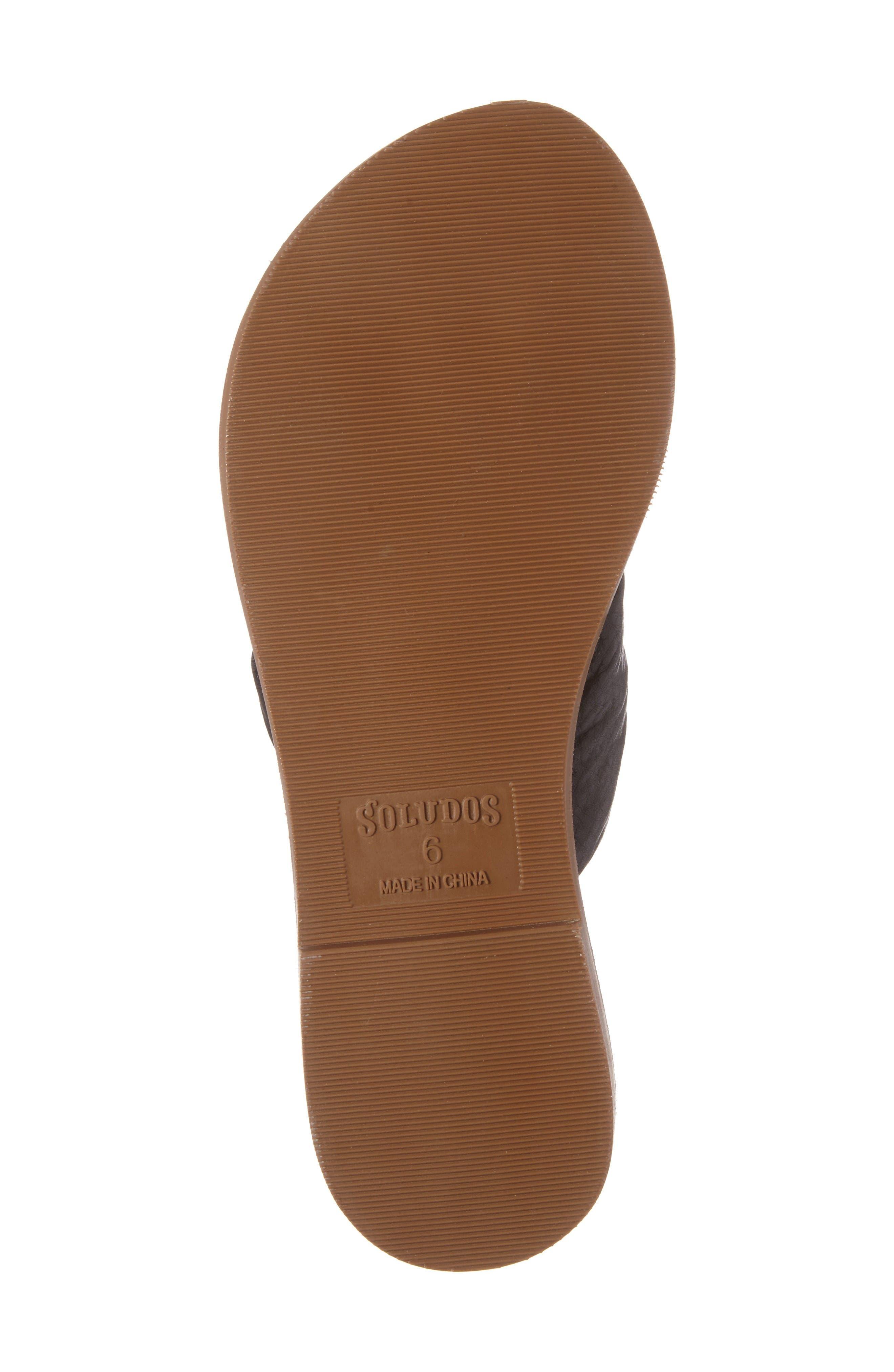Alternate Image 6  - Soludos Knotted Slide Sandal (Women)