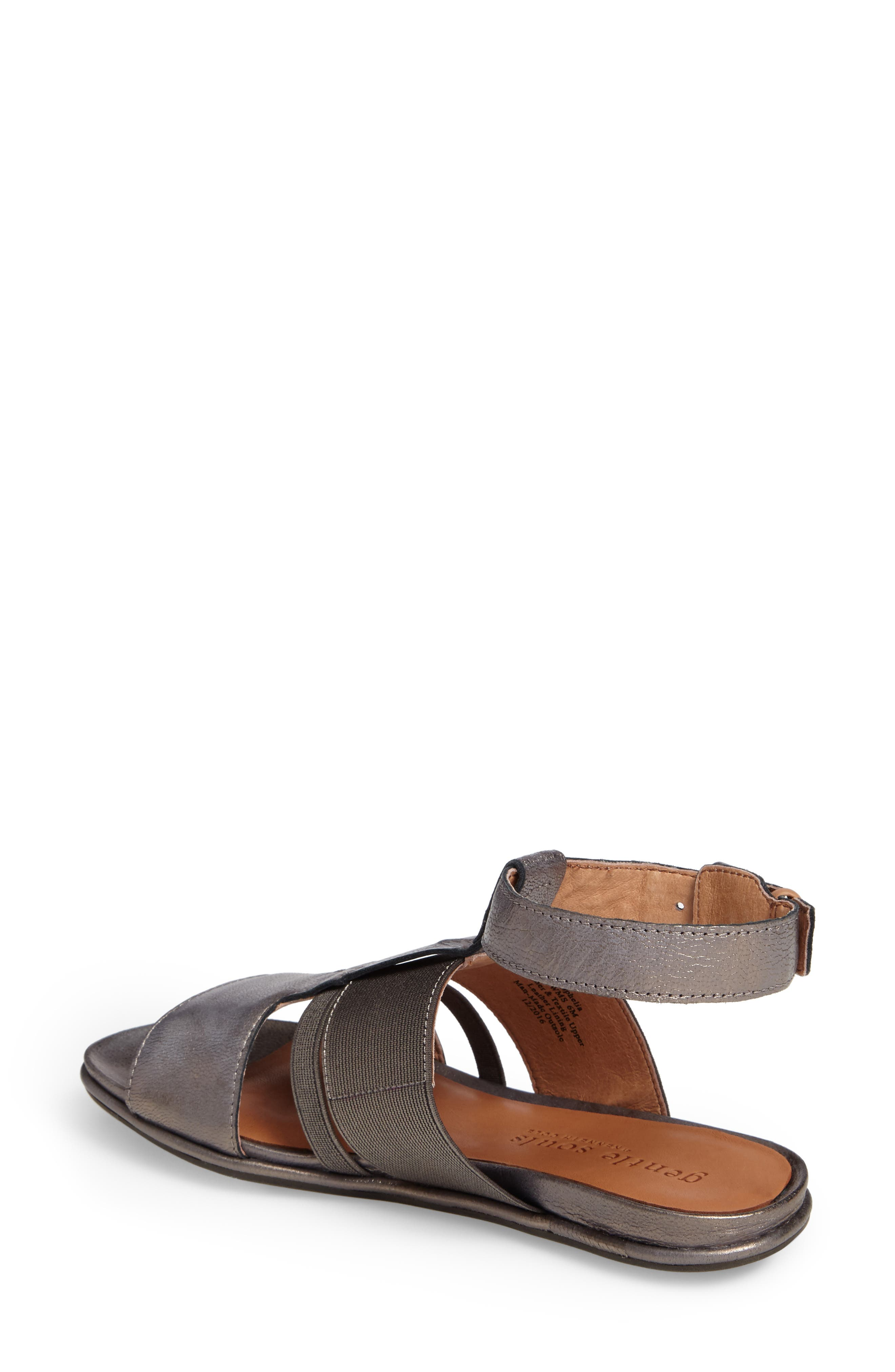 by Kenneth Cole Ophelia Sandal,                             Alternate thumbnail 2, color,                             Pewter Leather