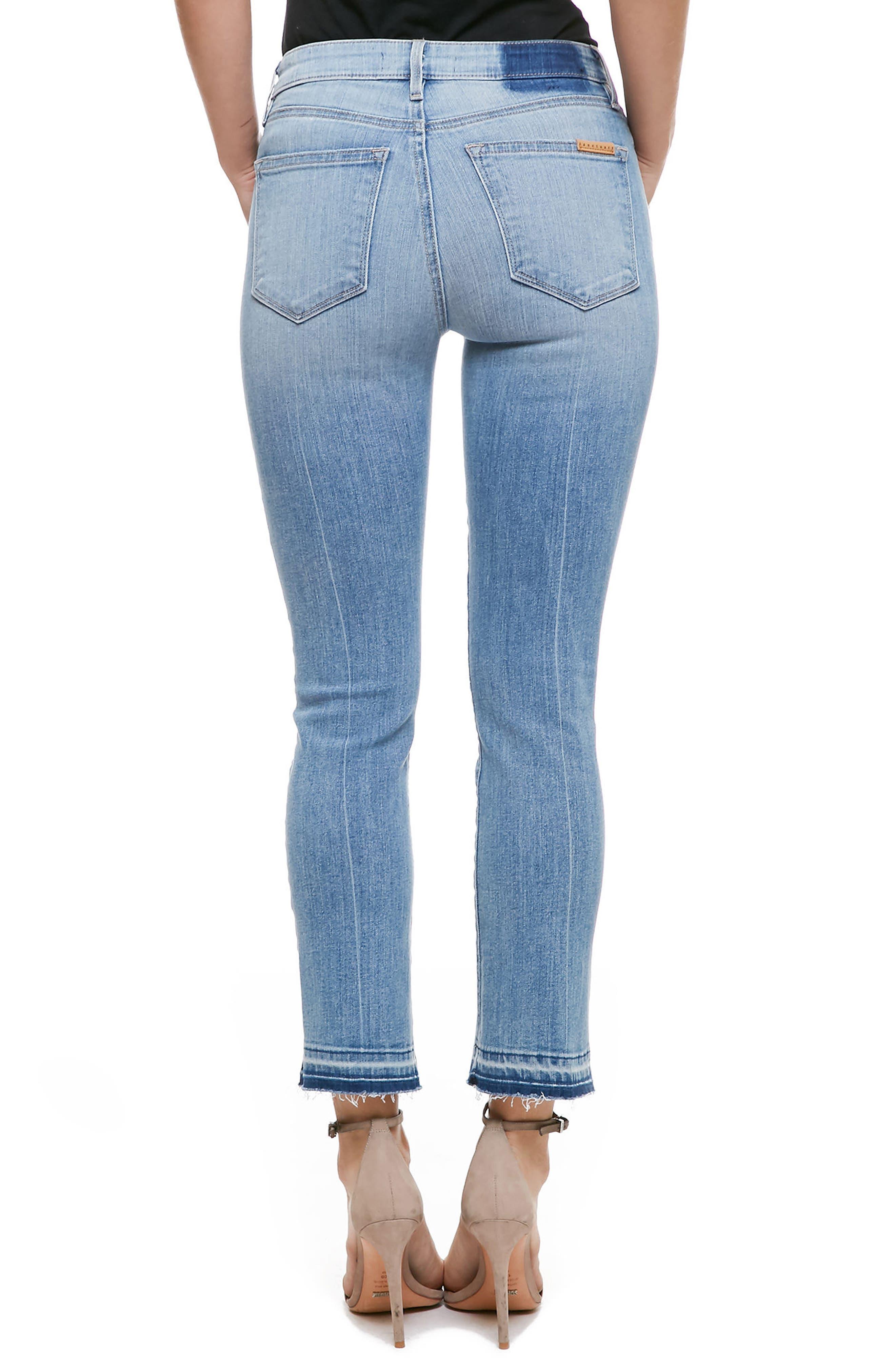 Alternate Image 2  - Sanctuary Robbie Release Hem Crop Jeans (Sadie)