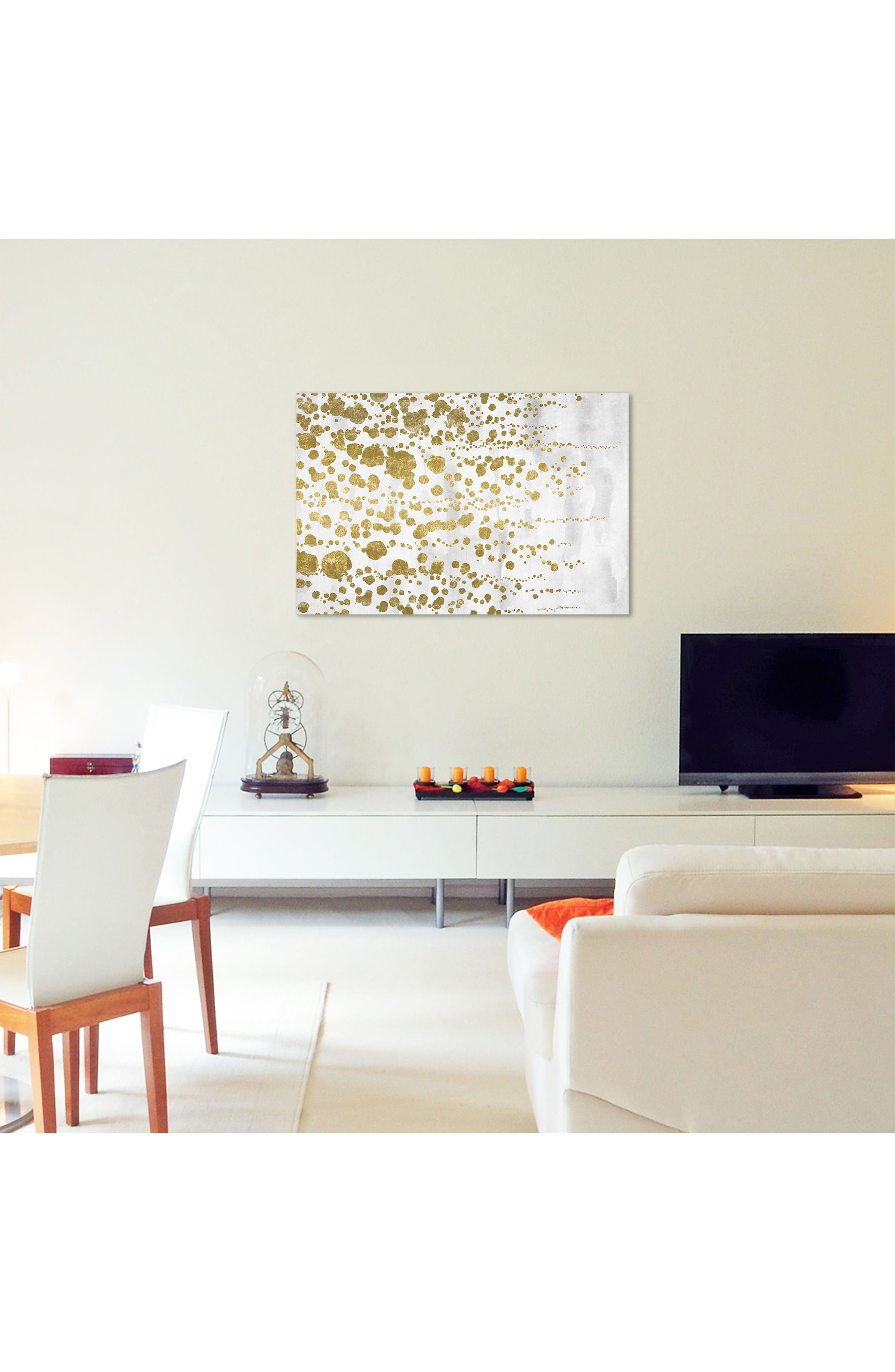 Alternate Image 2  - Wynwood Gradual Gold Canvas Wall Art
