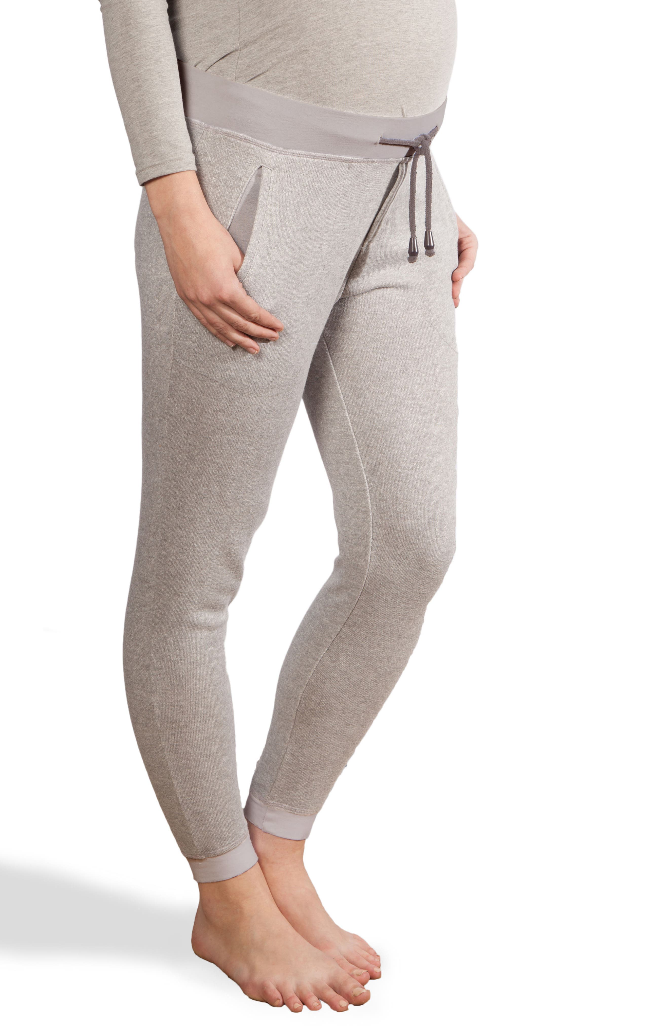 Modern Eternity French Terry Maternity Jogger Pants