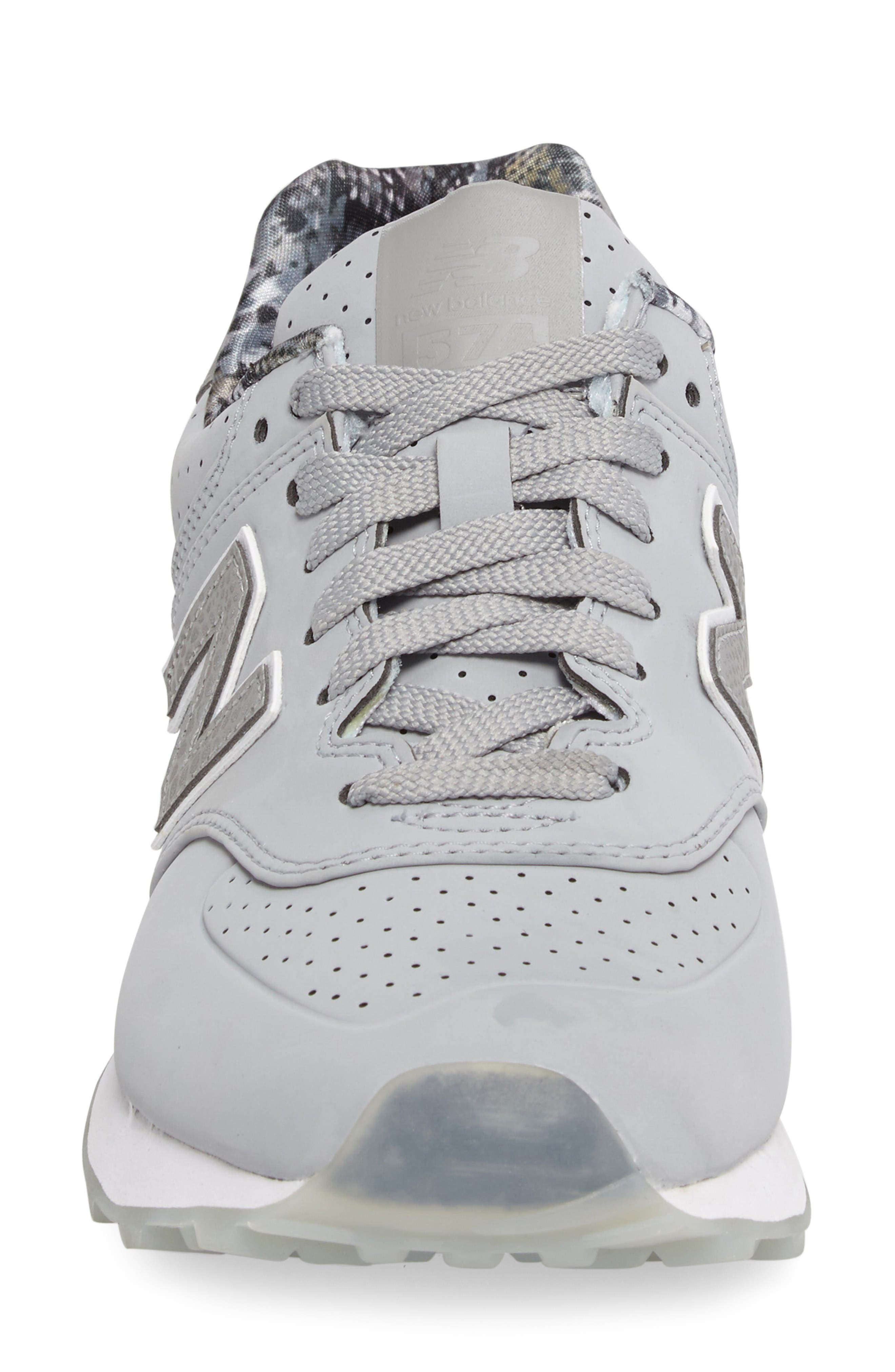 Alternate Image 4  - New Balance 574 Luxe Rep Sneaker (Women)