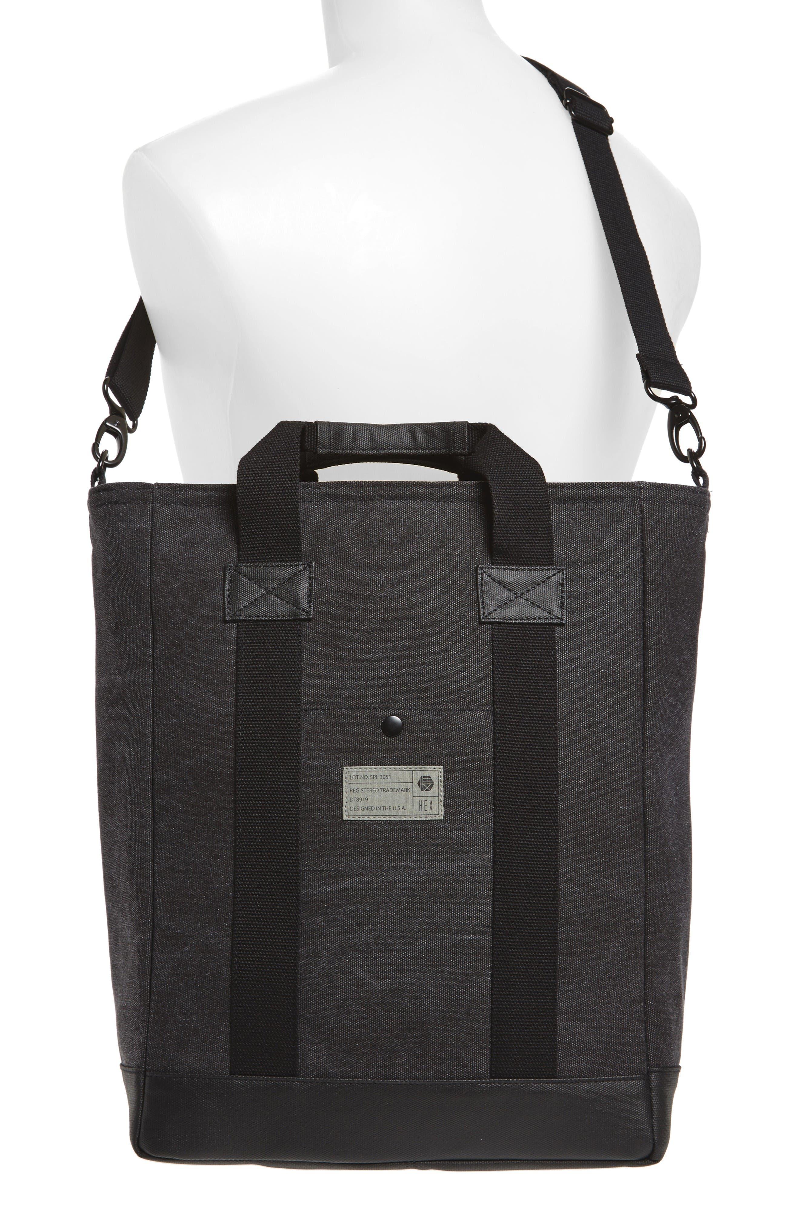 Alternate Image 2  - HEX Canvas Tote Bag
