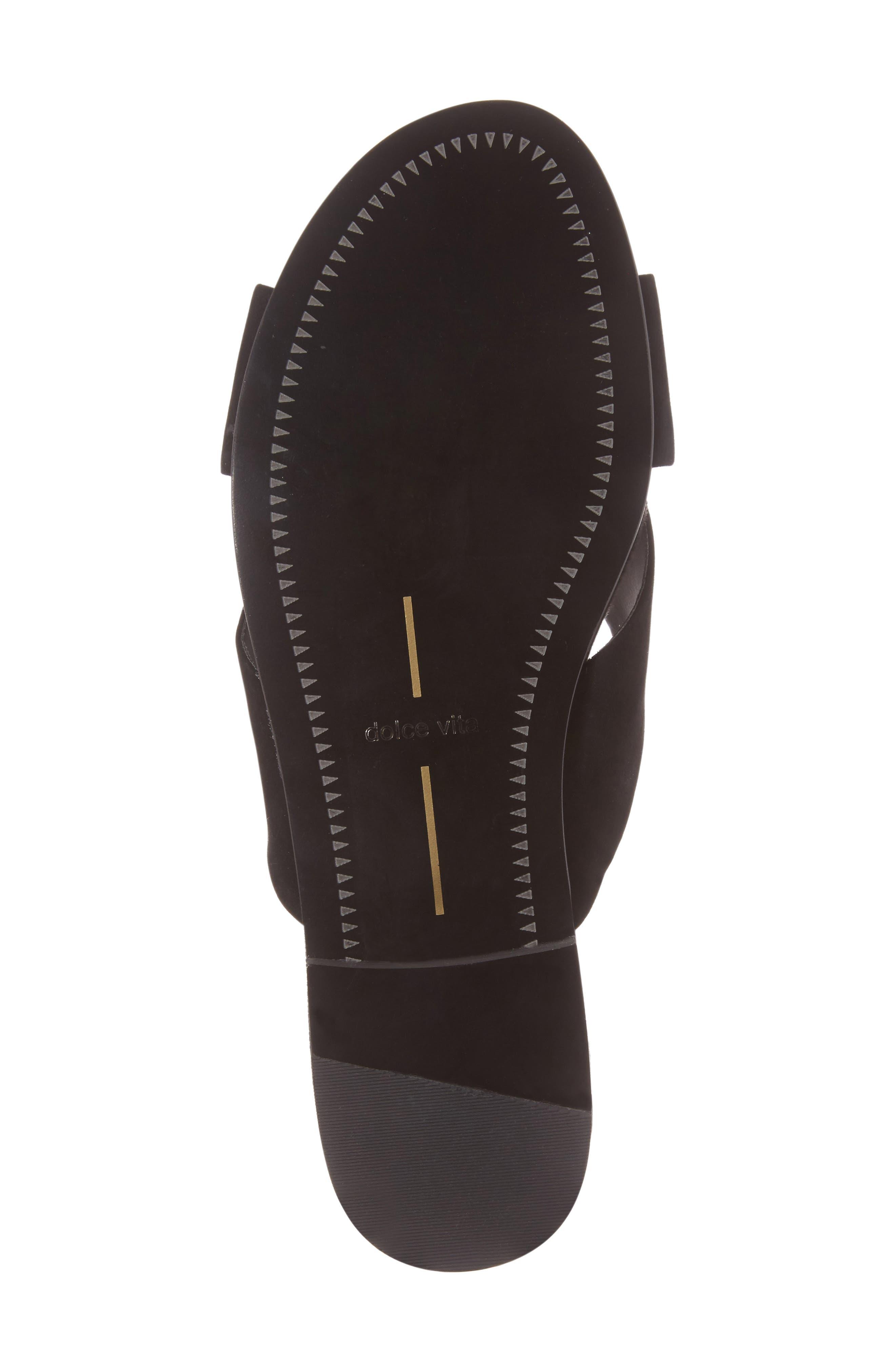 Alternate Image 6  - Dolce Vita Cross Strap Slide Sandal (Women)
