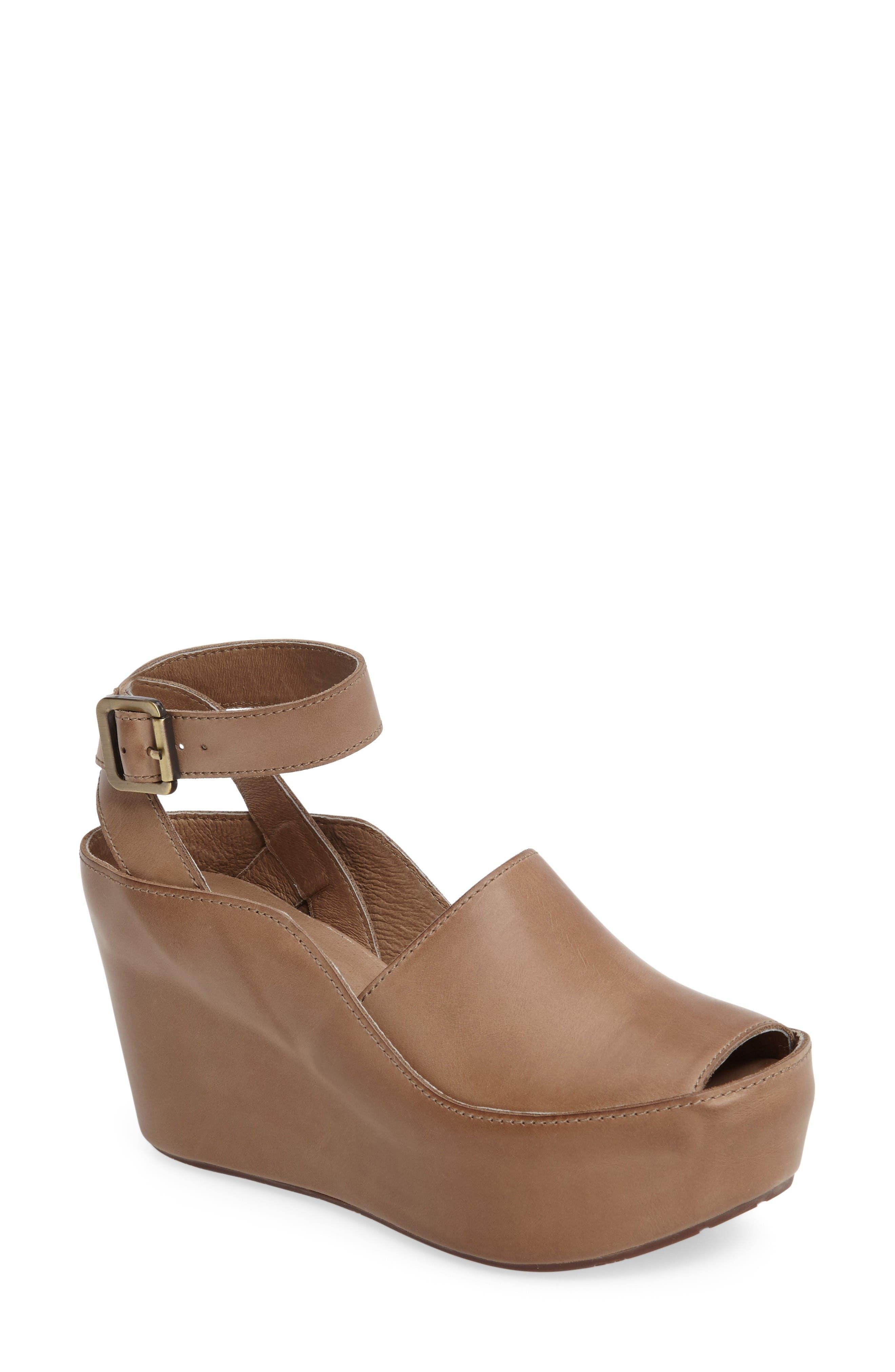 Main Image - Chocolat Blu Wisper Wedge Sandal (Women)
