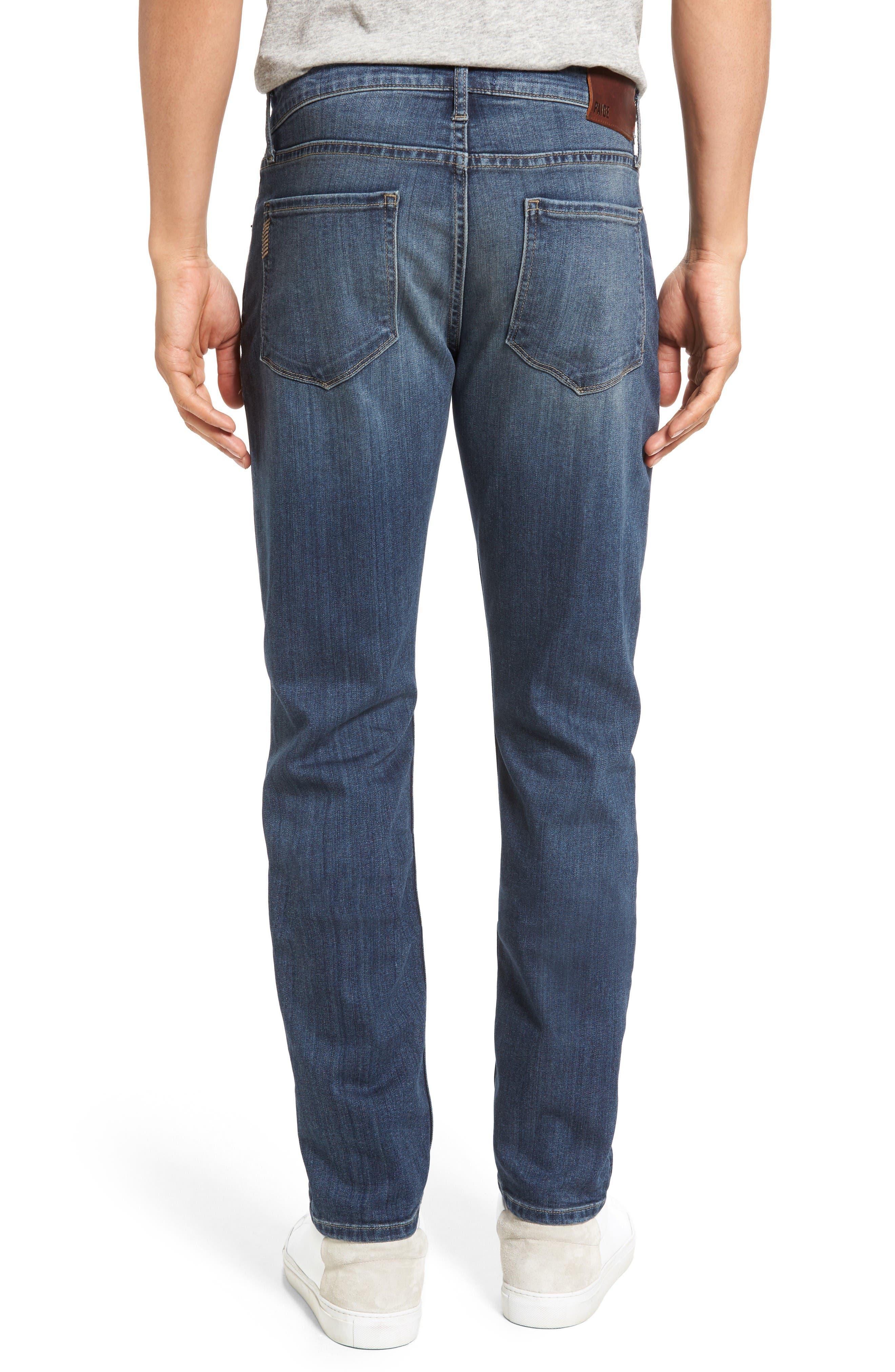 Transcend - Lennox Slim Fit Jeans,                             Alternate thumbnail 2, color,                             Elwood