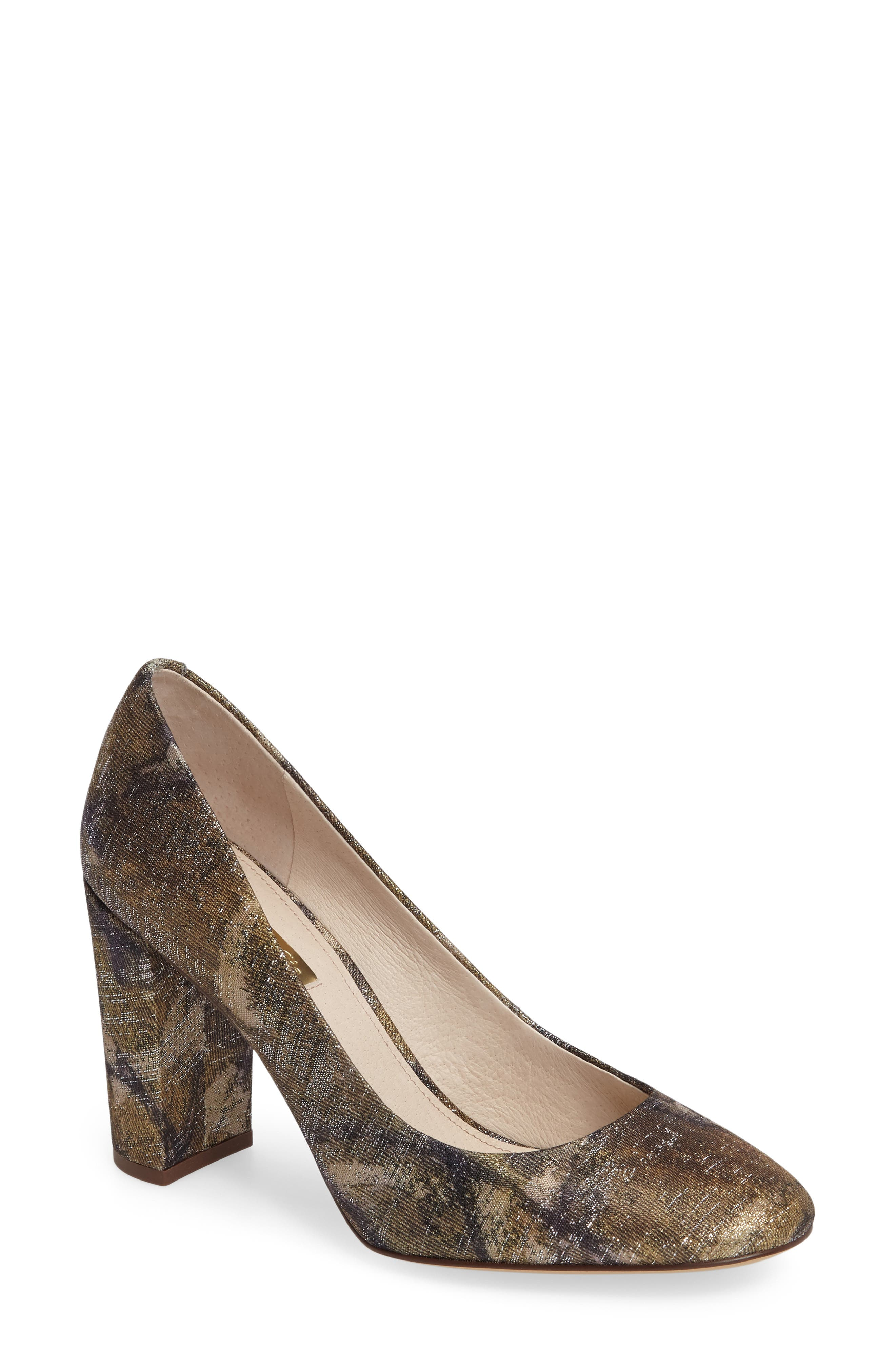 Louise et Cie Jianna Stacked Heel Pump (Women)