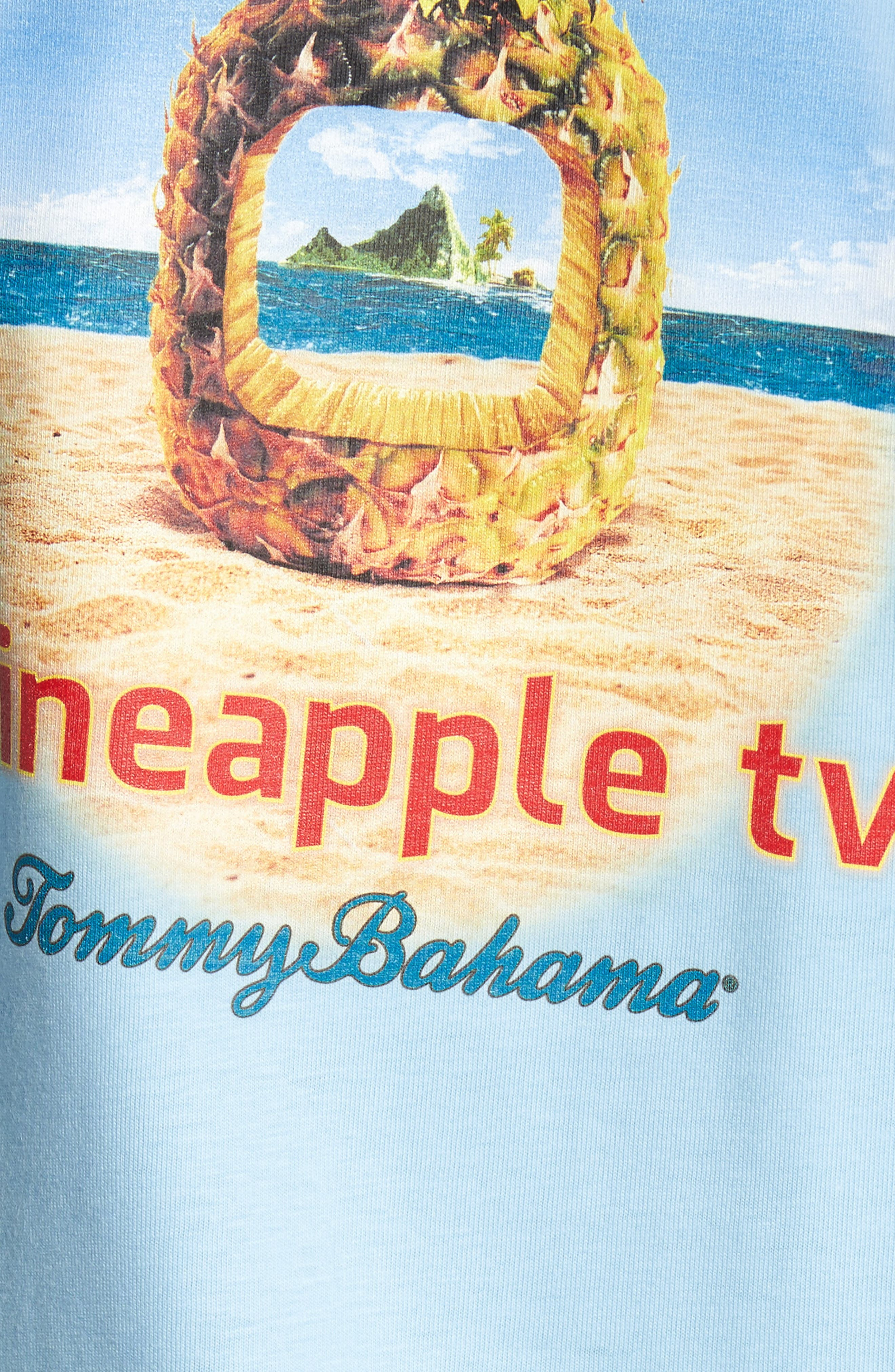 Alternate Image 5  - Tommy Bahama Pineapple TV Graphic T-Shirt
