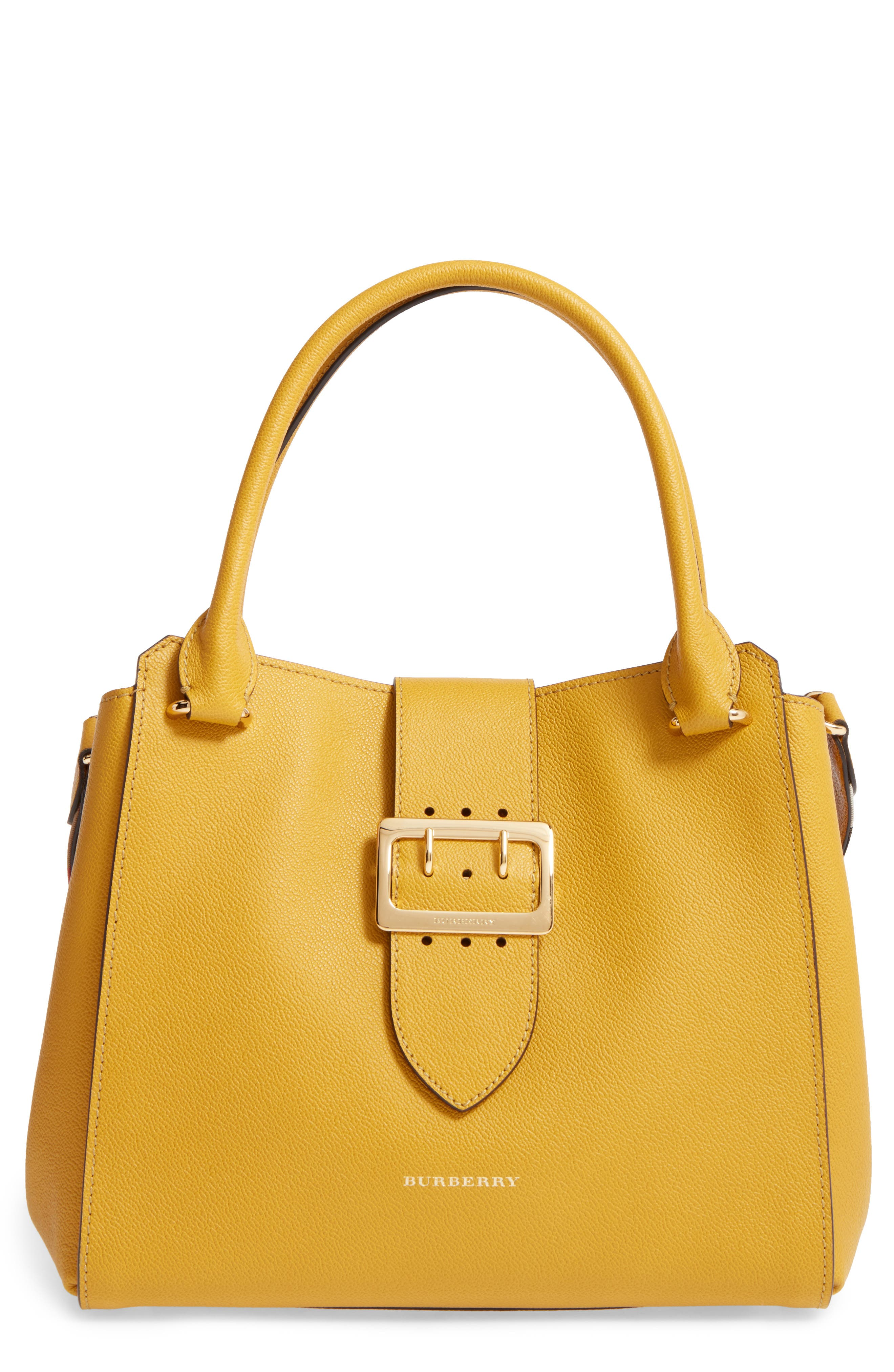 Alternate Image 1 Selected - Burberry Medium Calfskin Leather Tote
