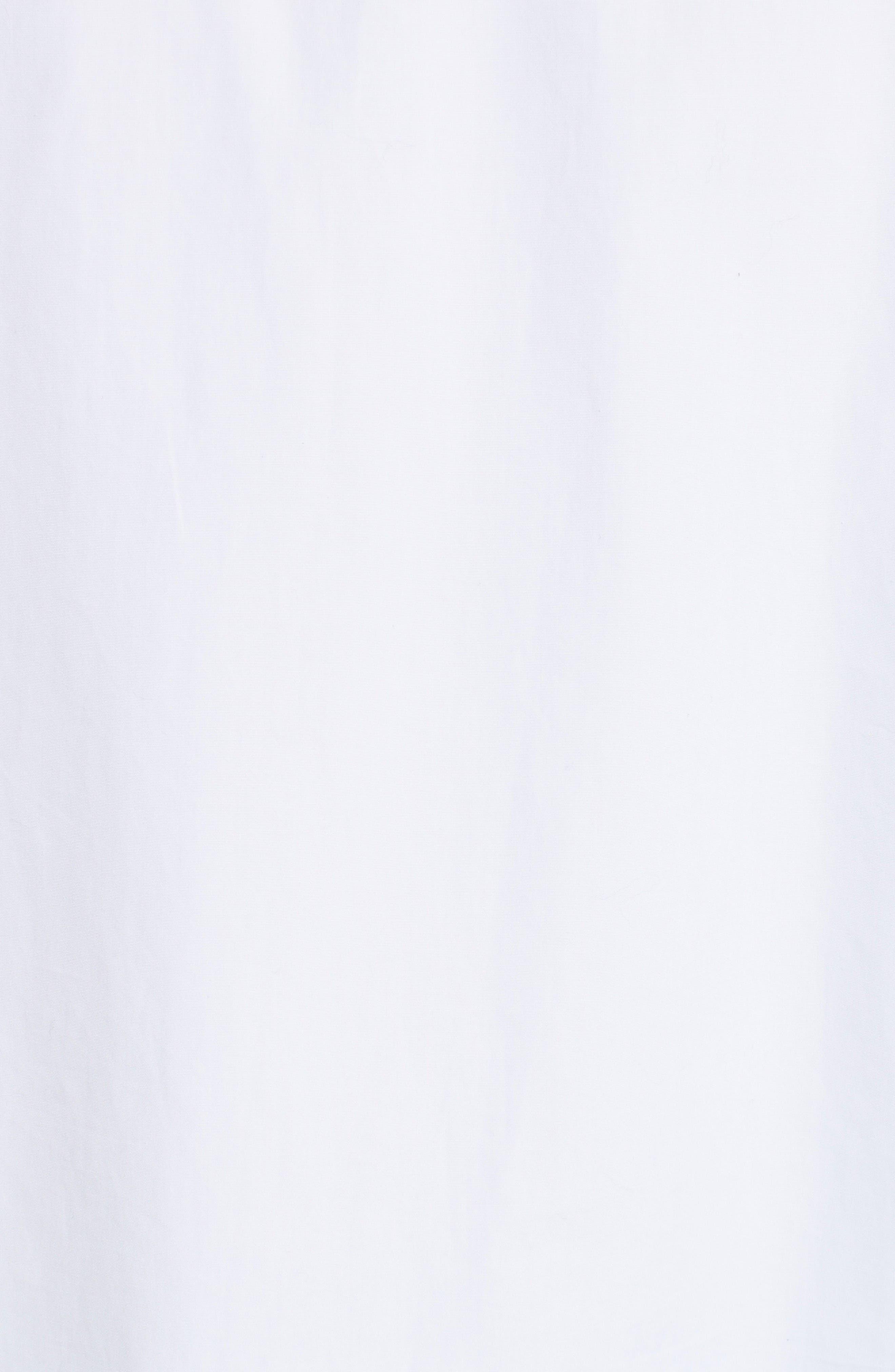 Alternate Image 6  - Helmut Lang Ruffle Bib Cotton Shirt