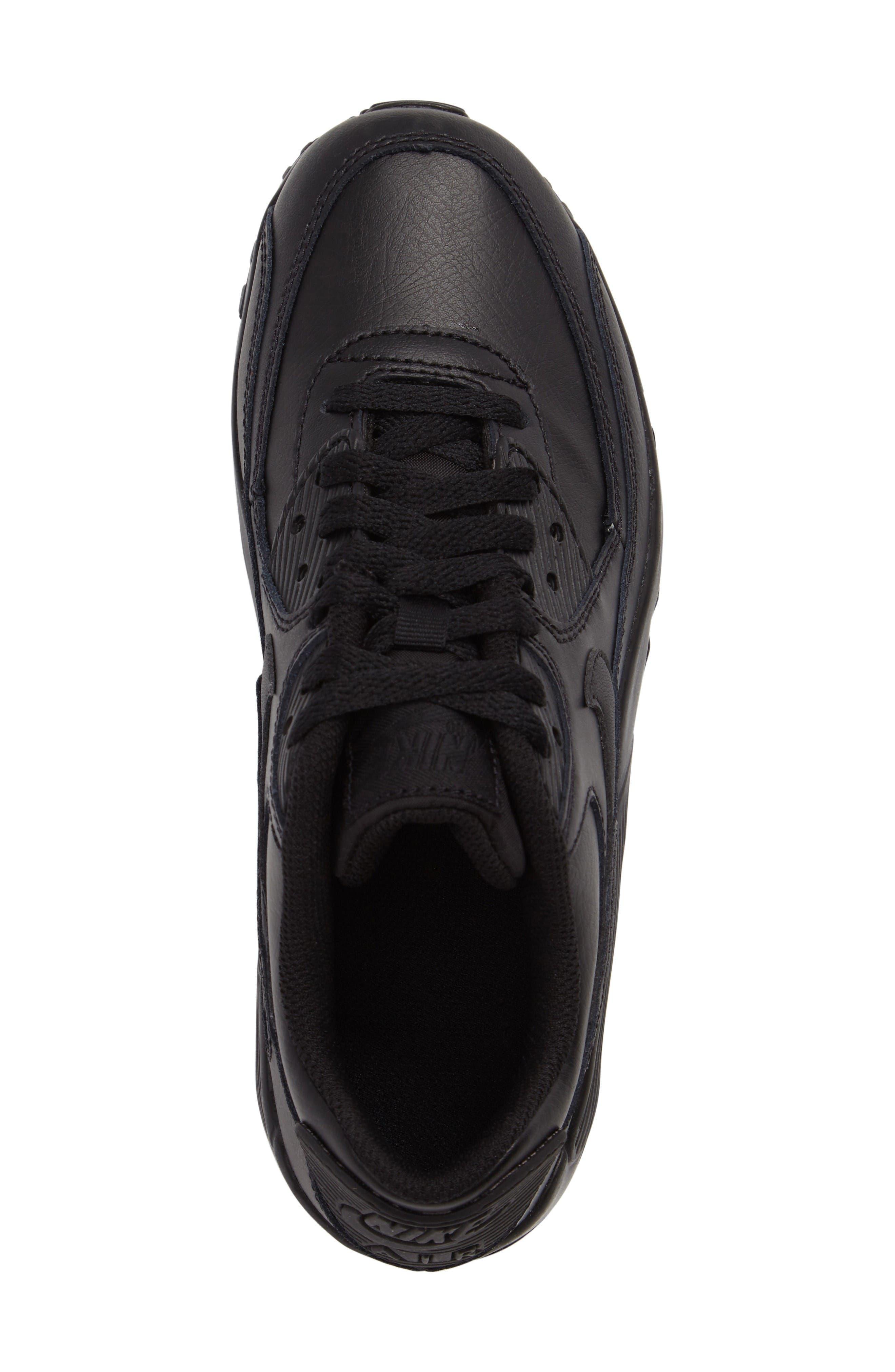 Alternate Image 5  - Nike Air Max 90 Sneaker (Big Kid)