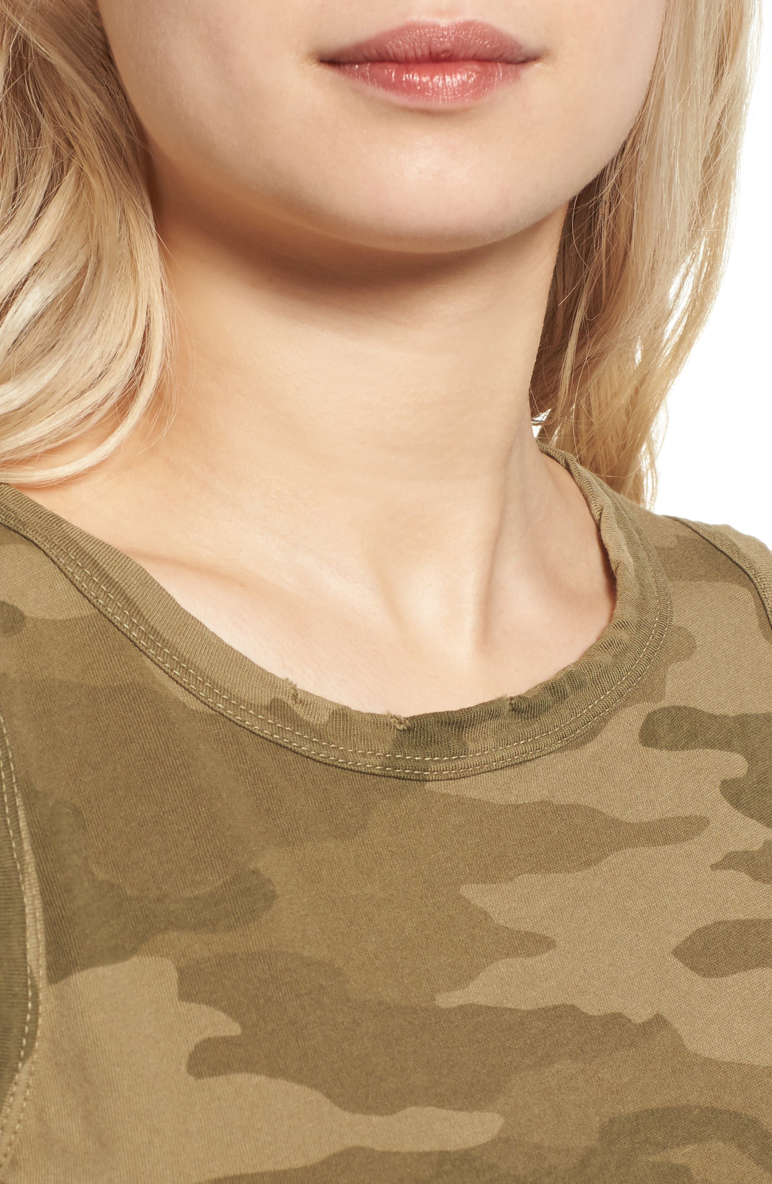 The Muscle Tee,                             Alternate thumbnail 4, color,                             Army Camo