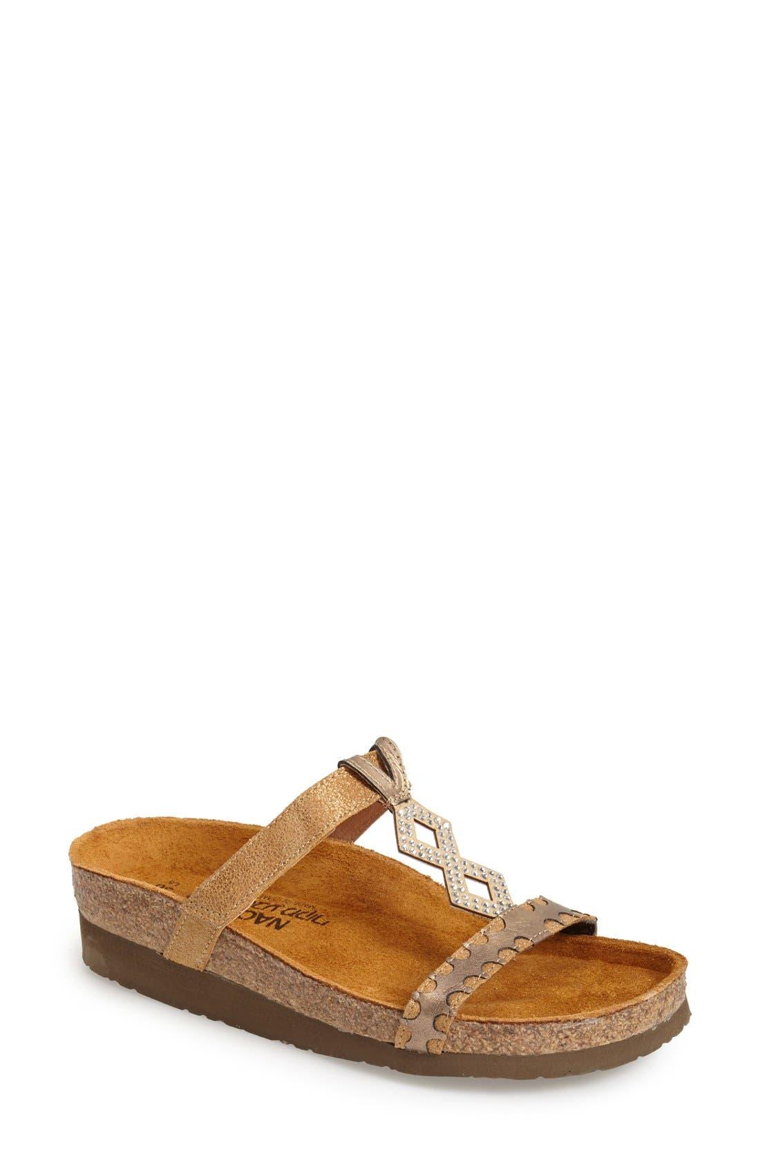 NAOT Embellished Walking Sandal