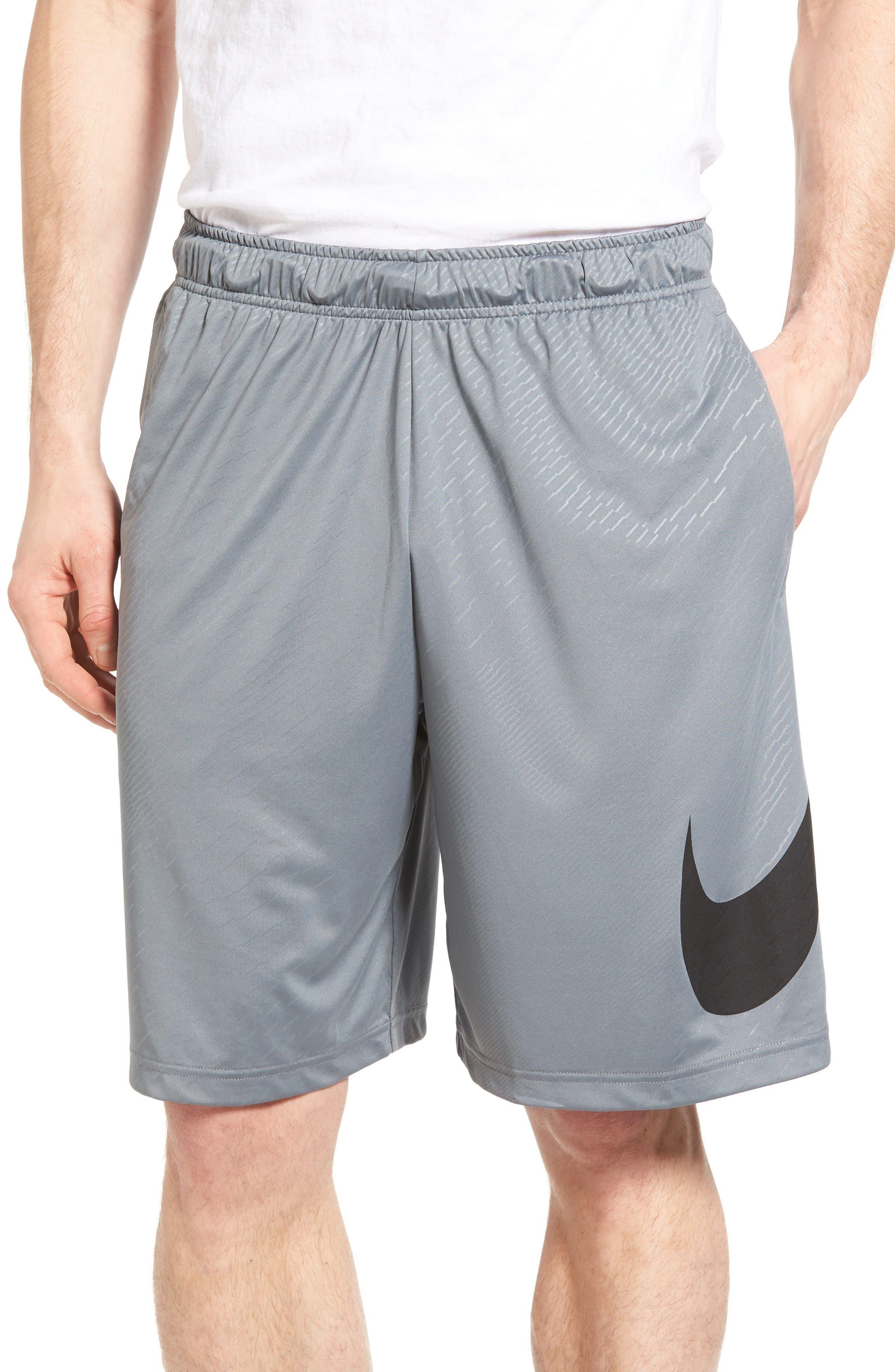 Dry Training Shorts,                         Main,                         color, Cool Grey/ Black