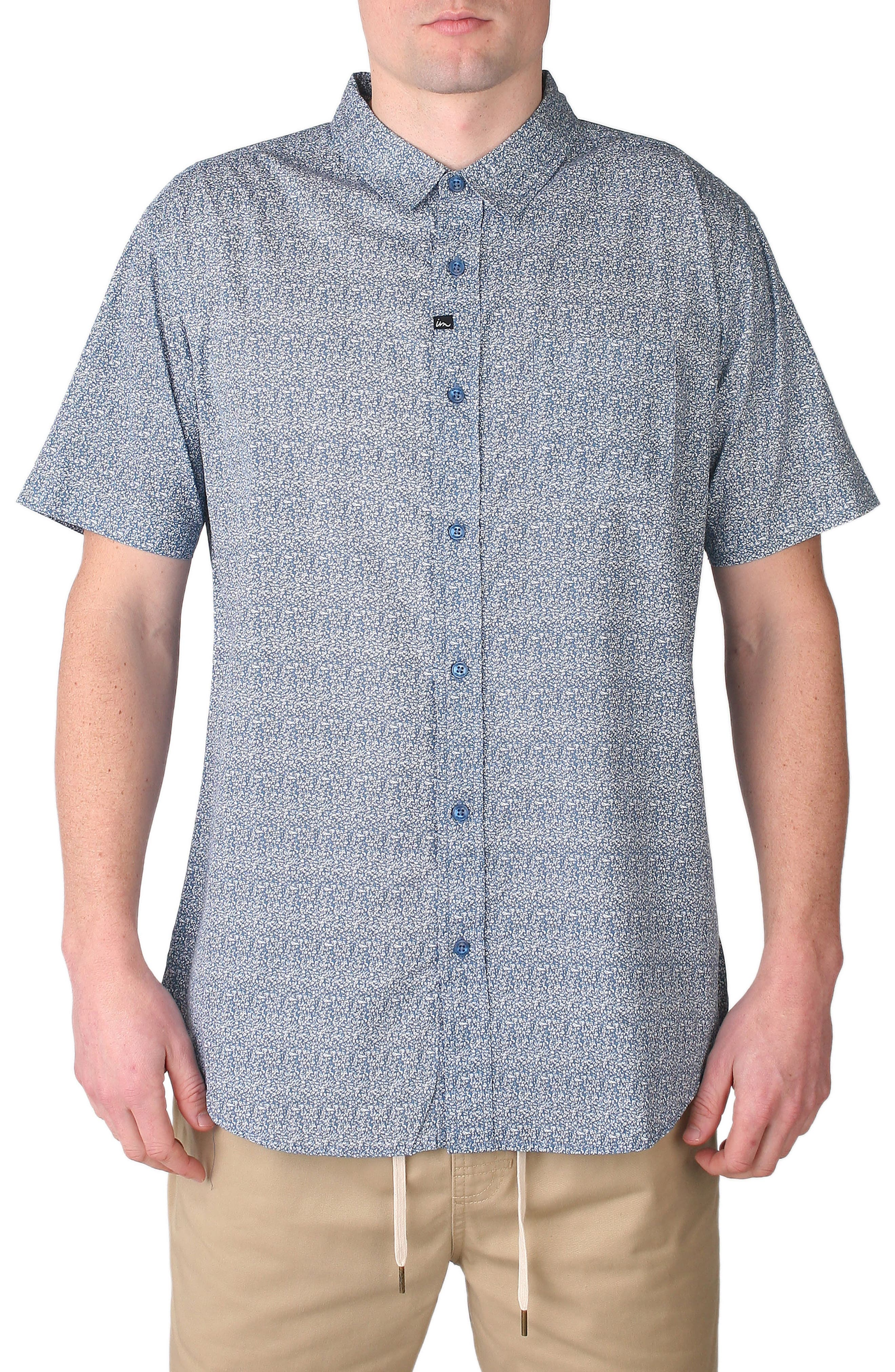 Imperial Motion Scroll Print Woven Shirt