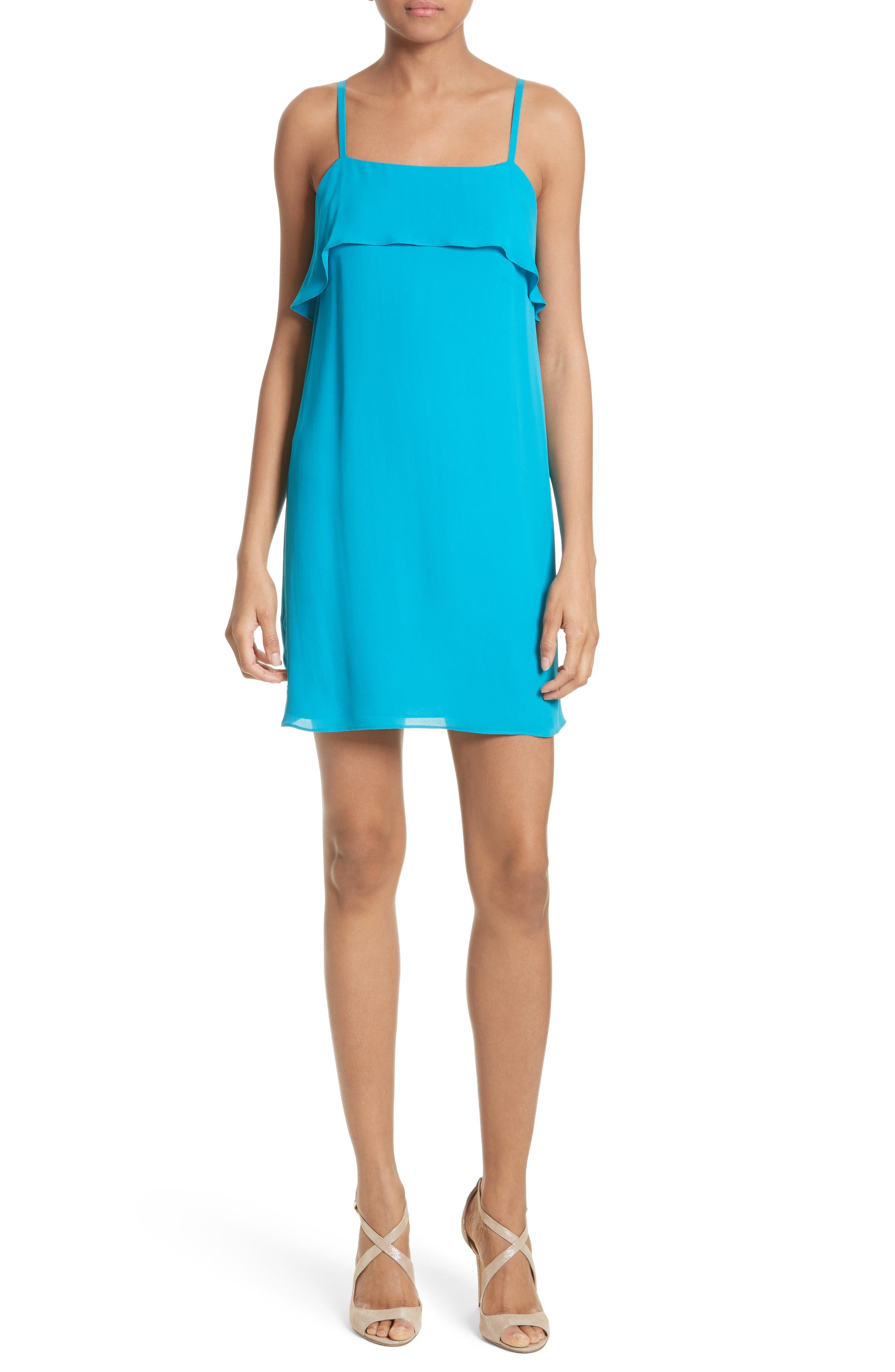 Main Image - Alice + Olivia Etta Shift Dress
