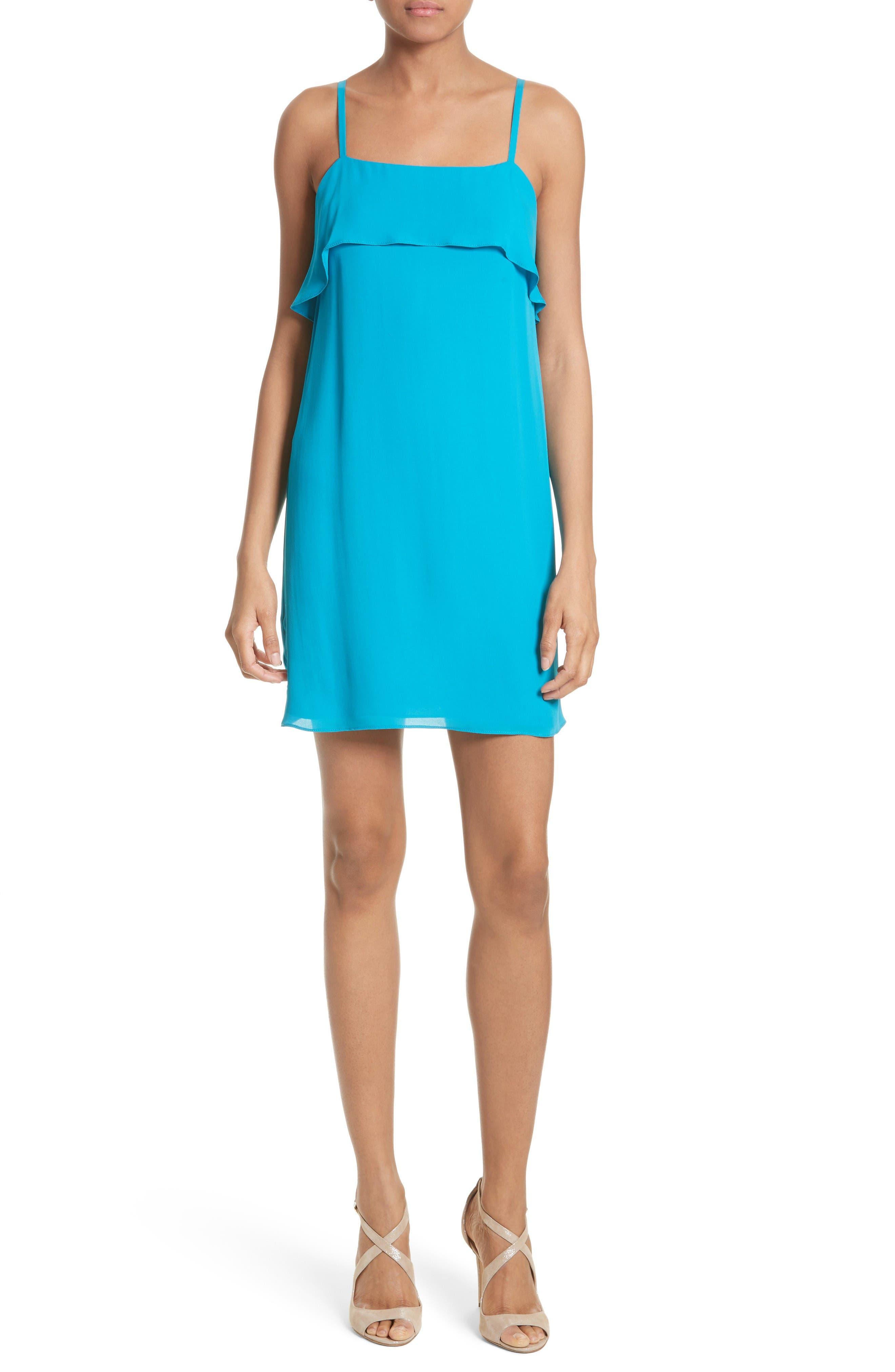 Etta Shift Dress,                         Main,                         color, Laguna
