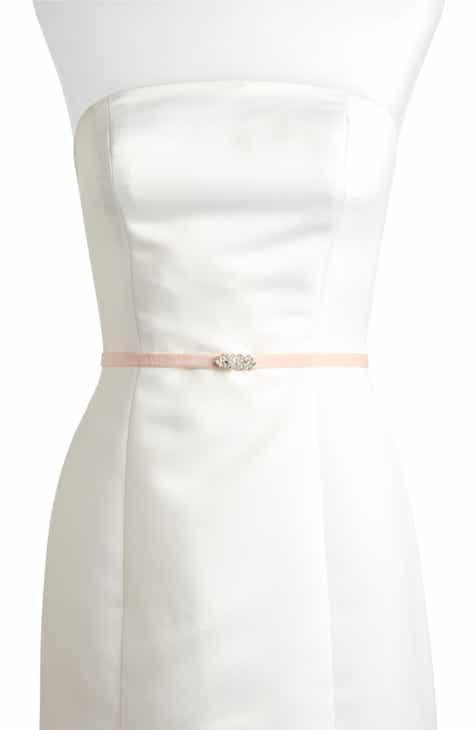 1db6831e913 Jenny Yoo Marsey Jeweled Velvet Belt