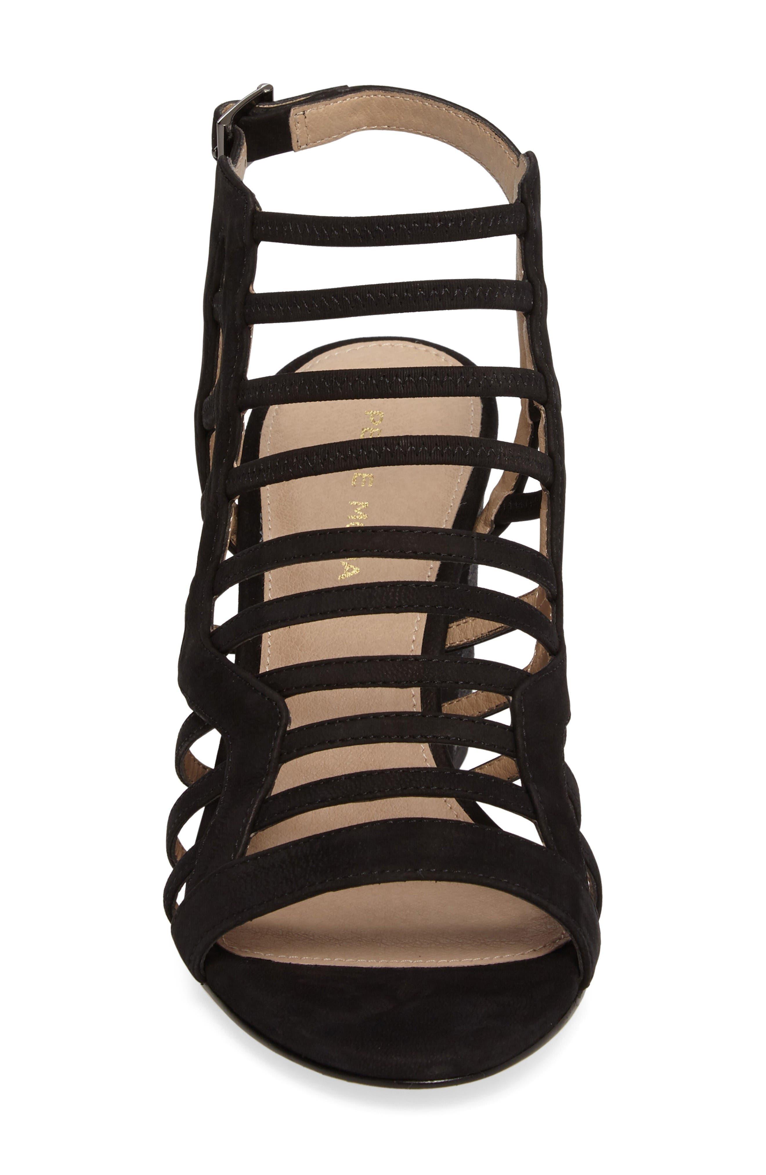 Alternate Image 5  - Pelle Moda Bonitta Cage Sandal (Women)