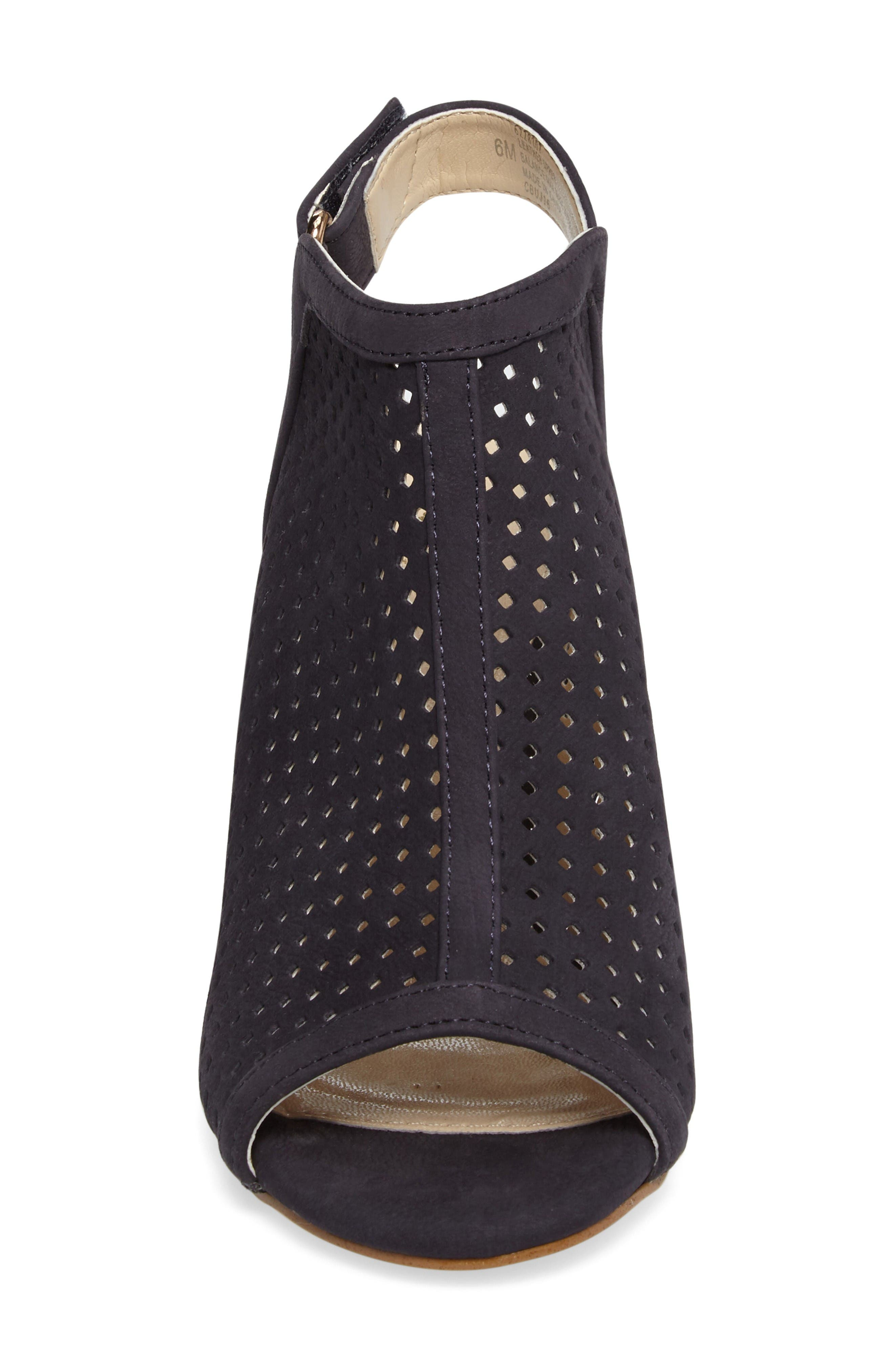 Alternate Image 4  - Isolá 'Lora' Perforated Open-Toe Bootie Sandal (Women)