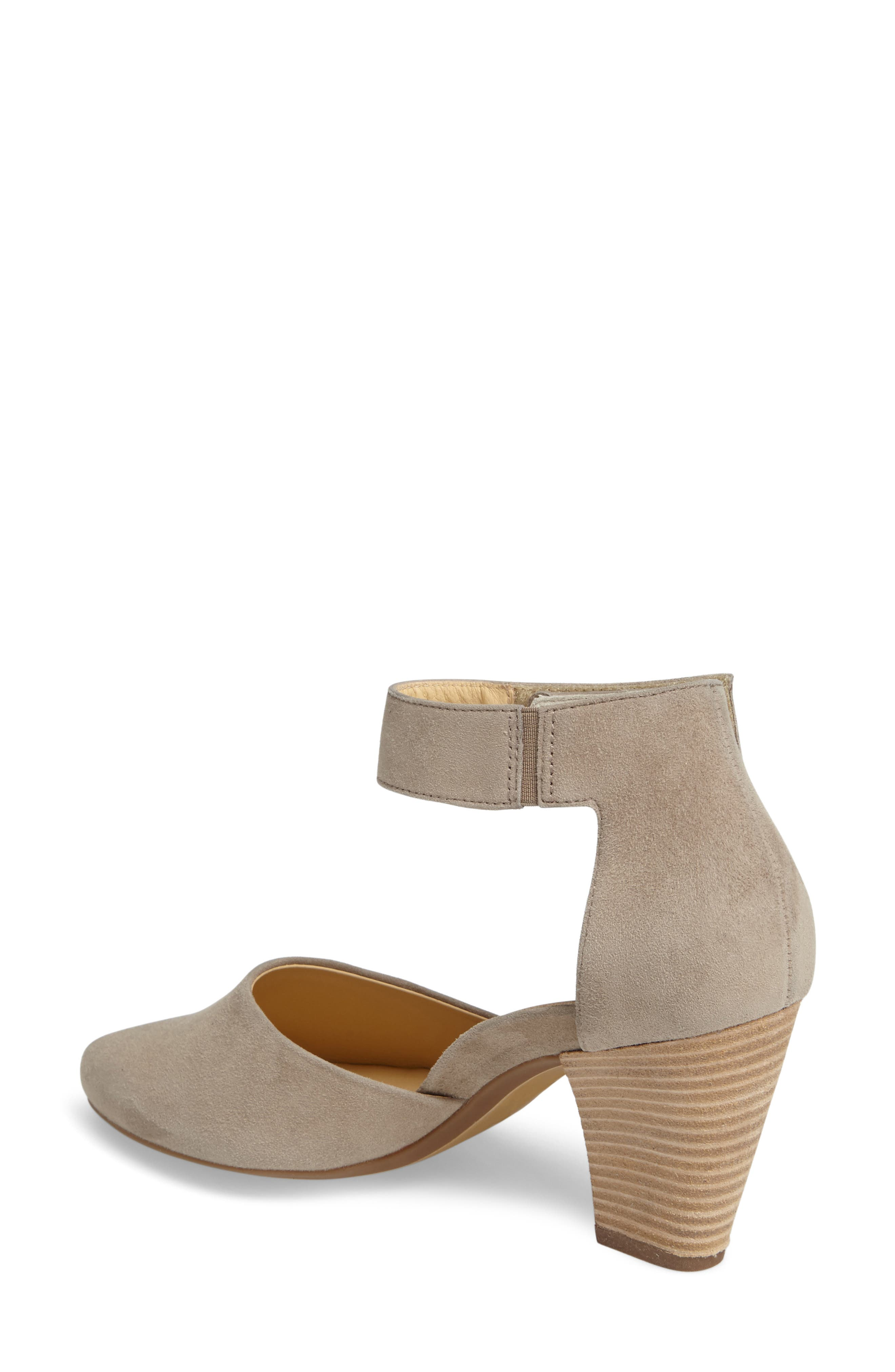 Noreen Pump,                             Alternate thumbnail 2, color,                             Taupe Suede
